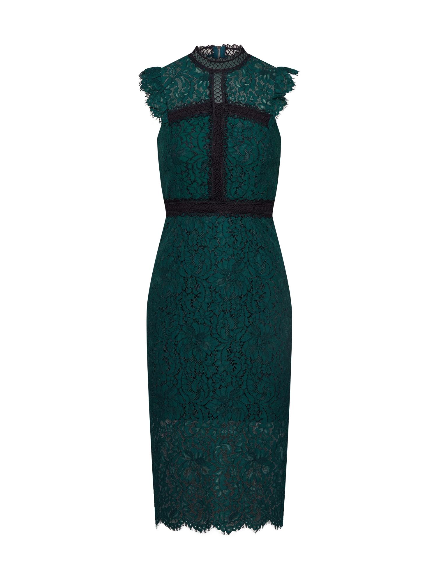 Bardot Sukienka koktajlowa 'Latoya'  szmaragdowy / czarny