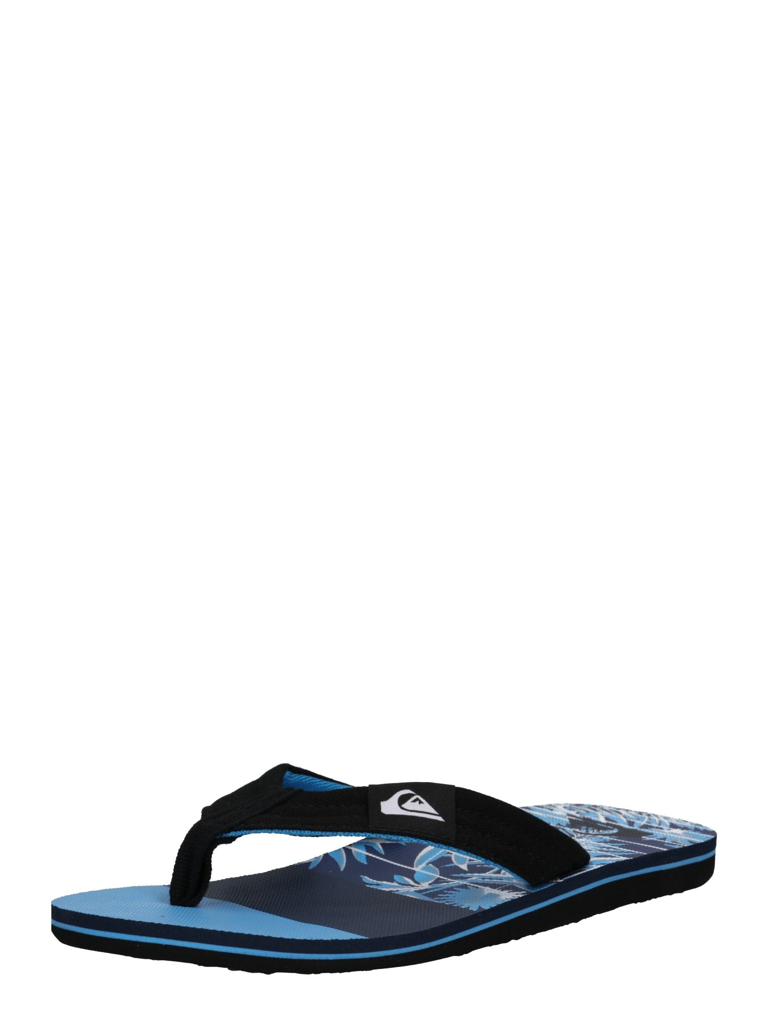 Žabky MOLOKAI modrá černá QUIKSILVER