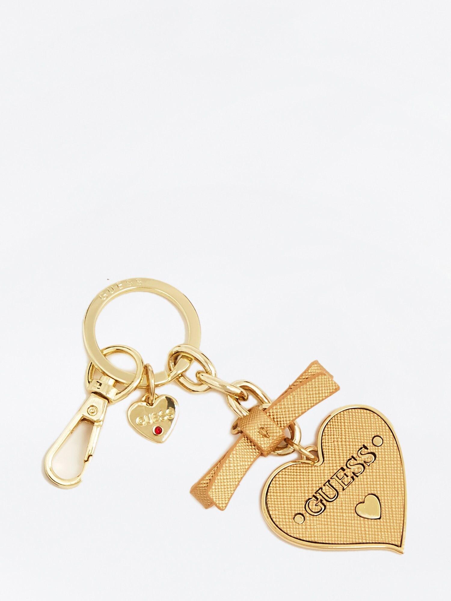 Schlüsselanhänger  'Charm Herz' | Accessoires > Schlüsselanhänger | Gold | Guess