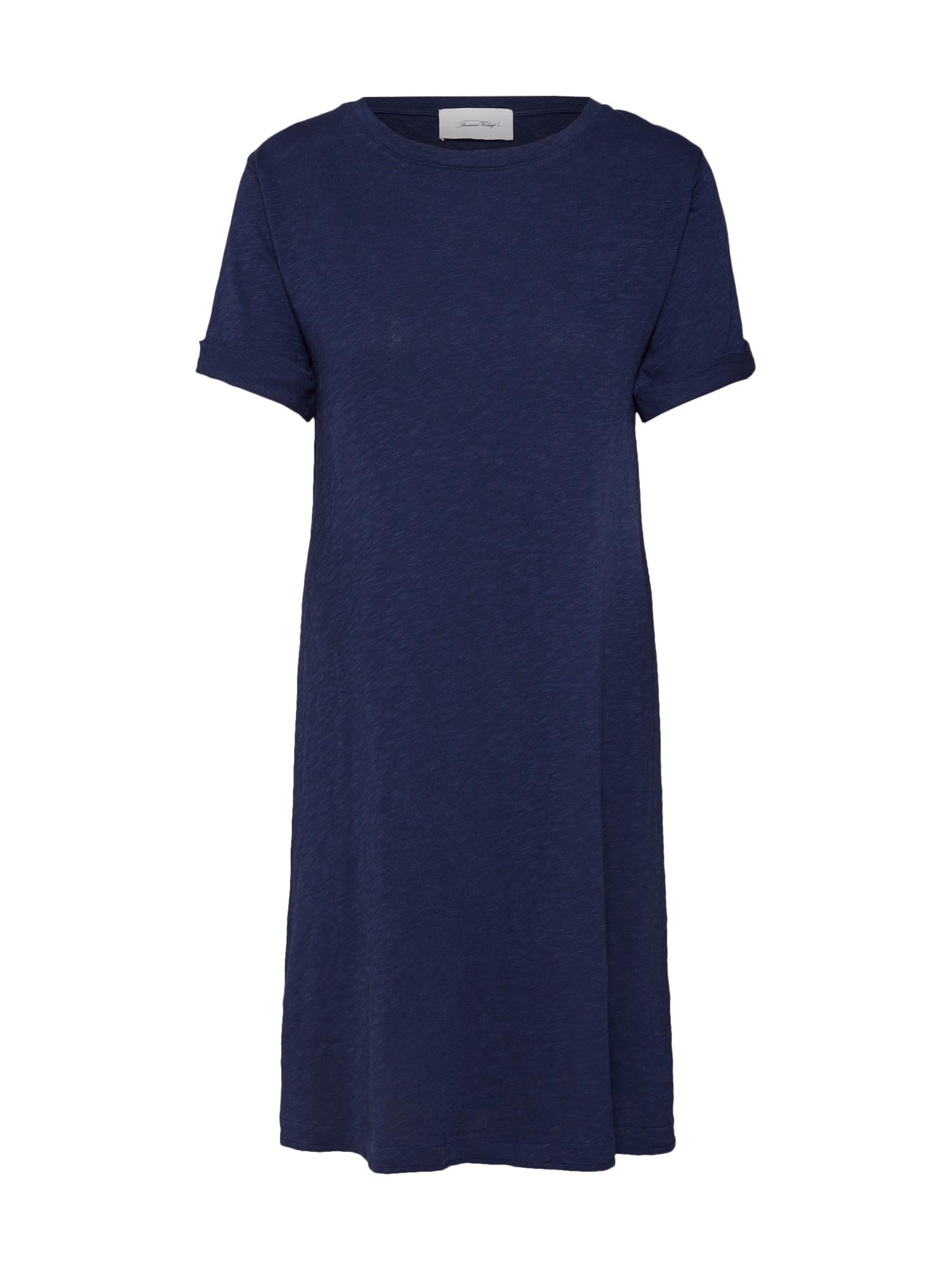 Šaty Bysapick modrá AMERICAN VINTAGE