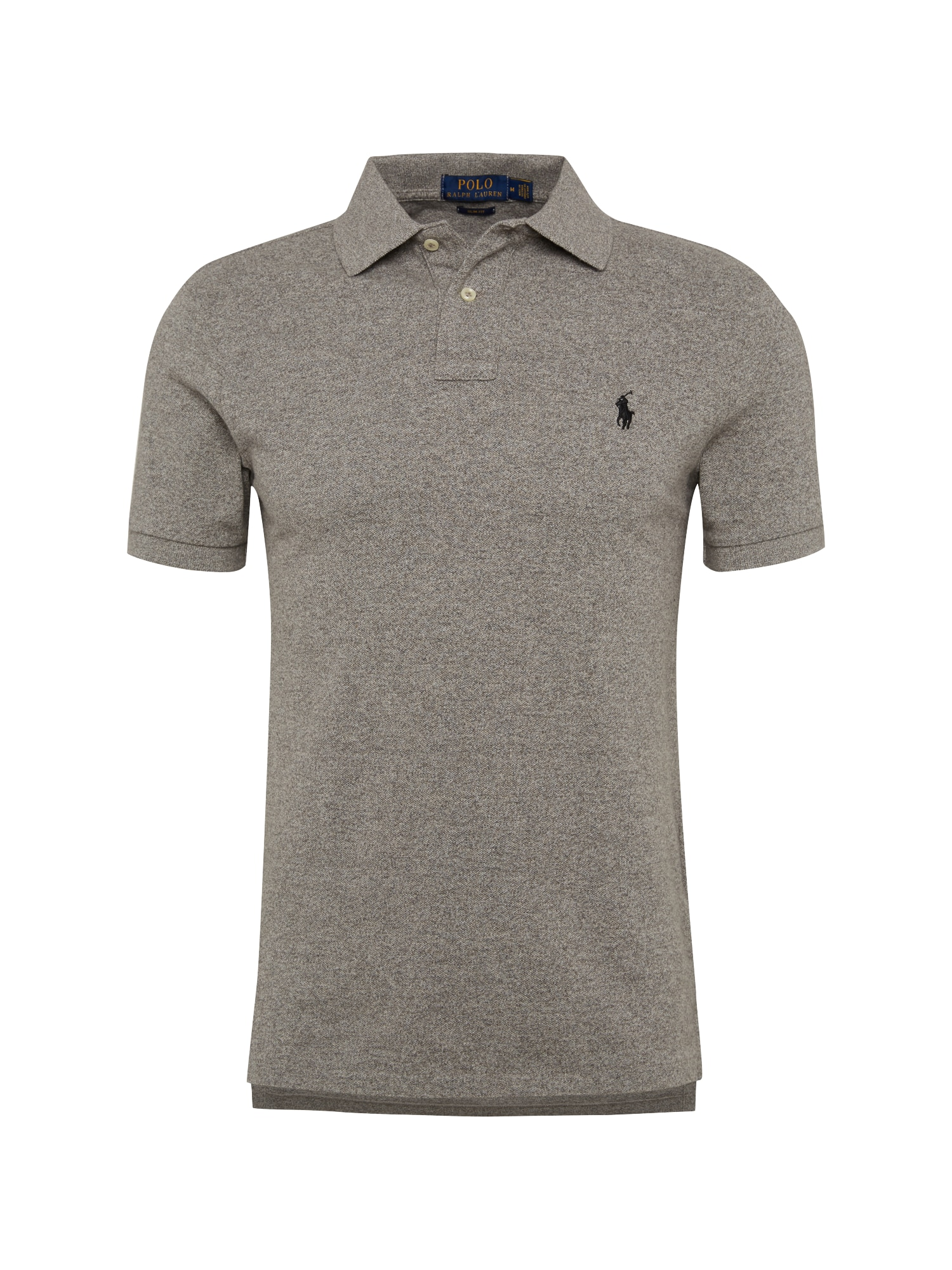 Tričko SS SLIM FIT-SHORT SLEEVE-KNIT šedá POLO RALPH LAUREN