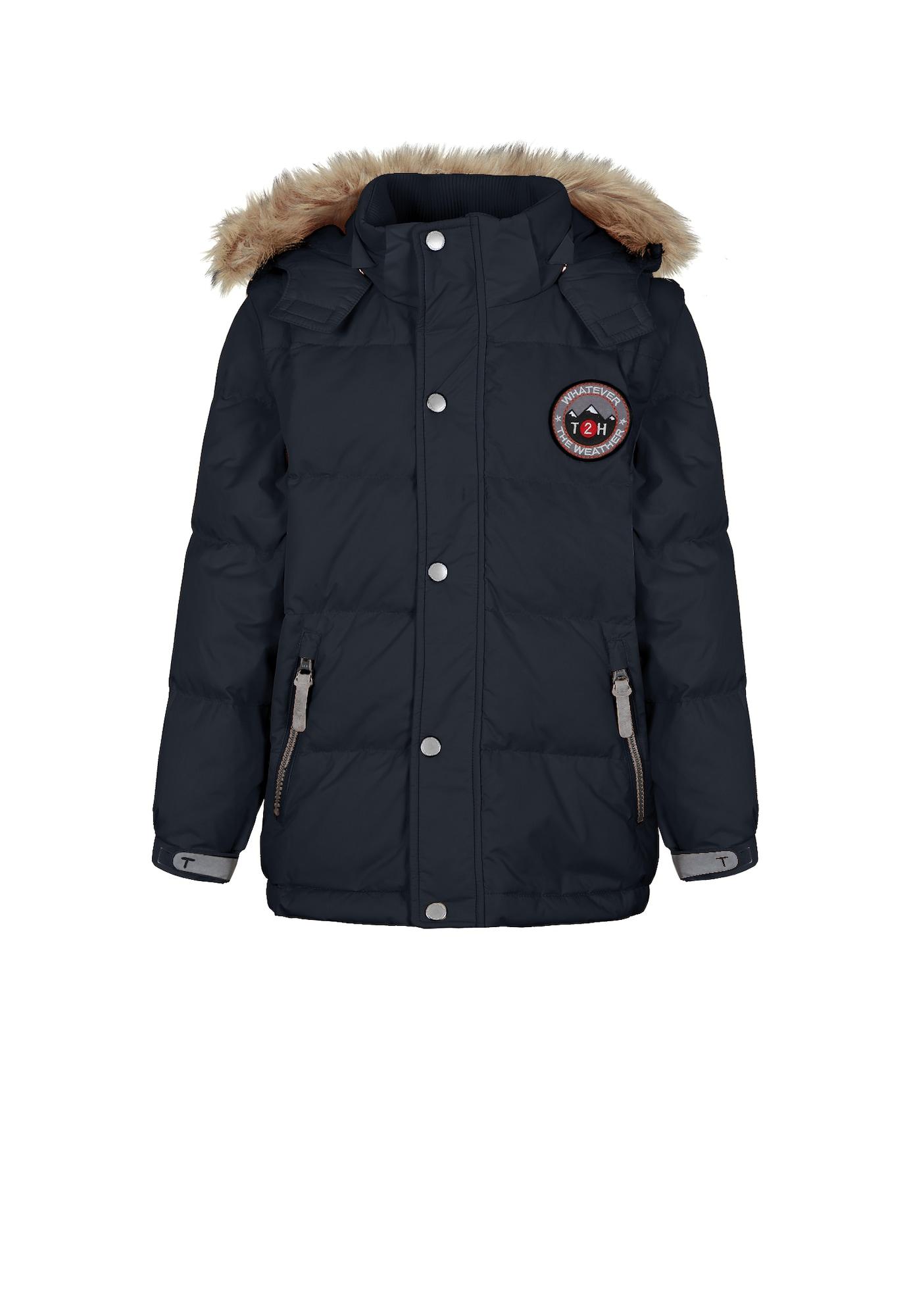 Zimní bunda kobaltová modř TICKET TO HEAVEN