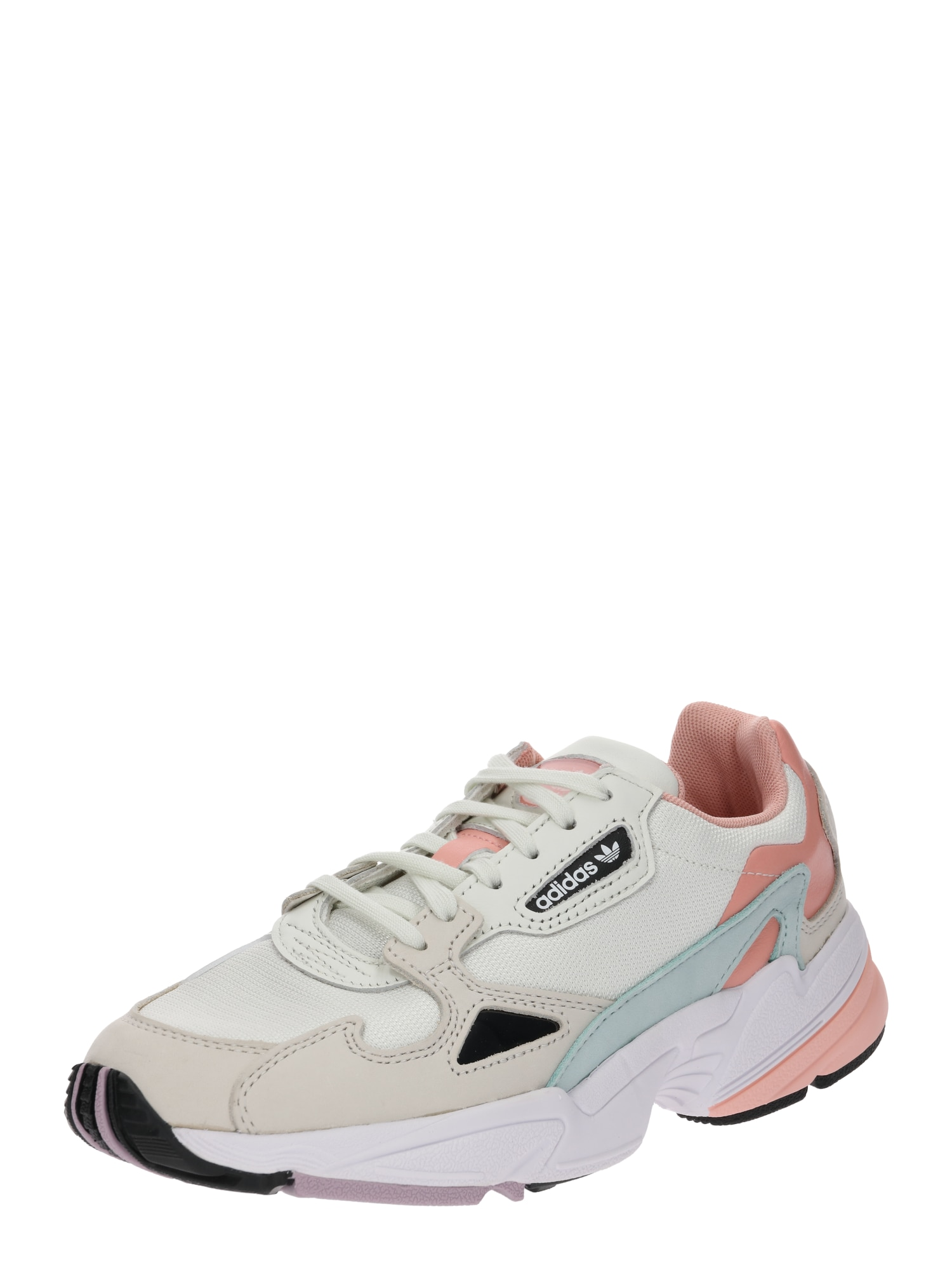 Sneaker 'Falcon' | Schuhe > Sneaker > Sneaker | Petrol - Koralle - Weiß | ADIDAS ORIGINALS
