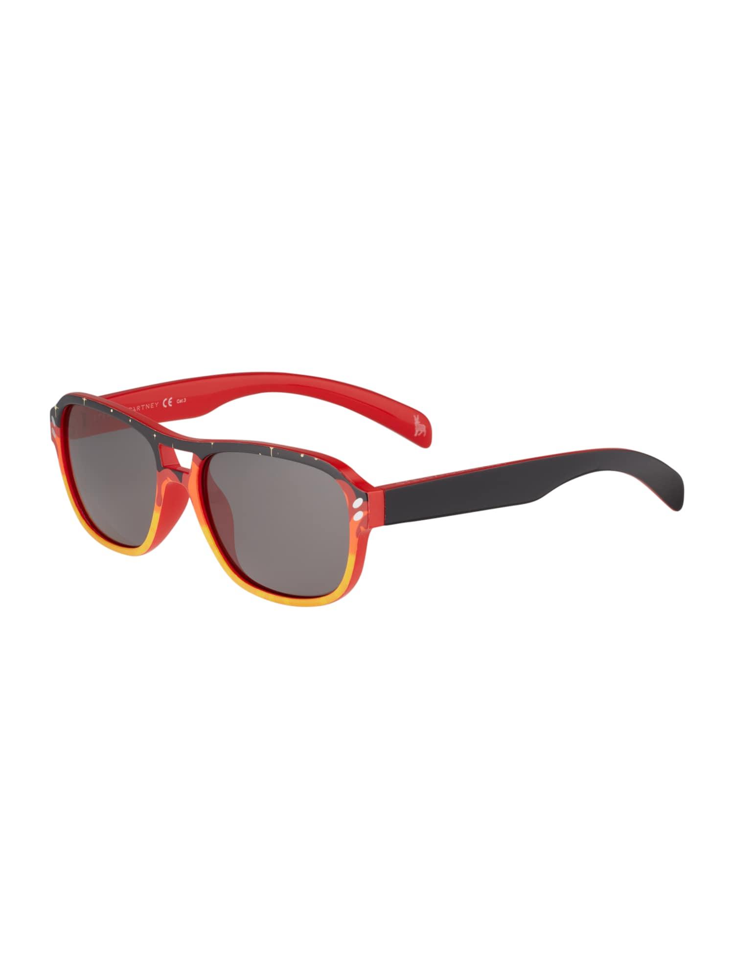 Stella McCartney Slnečné okuliare 'SK0036S-007 49'  sivá / zmiešané farby / čierna