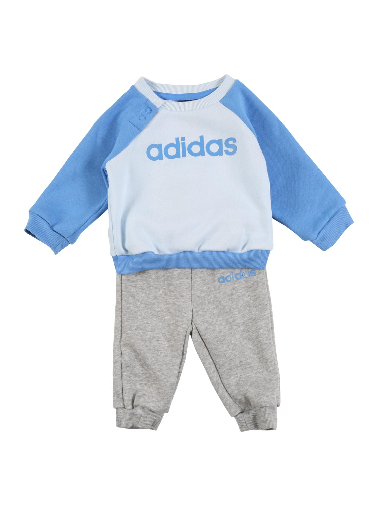 ADIDAS PERFORMANCE Sportovní oblečení  šedá / modrá