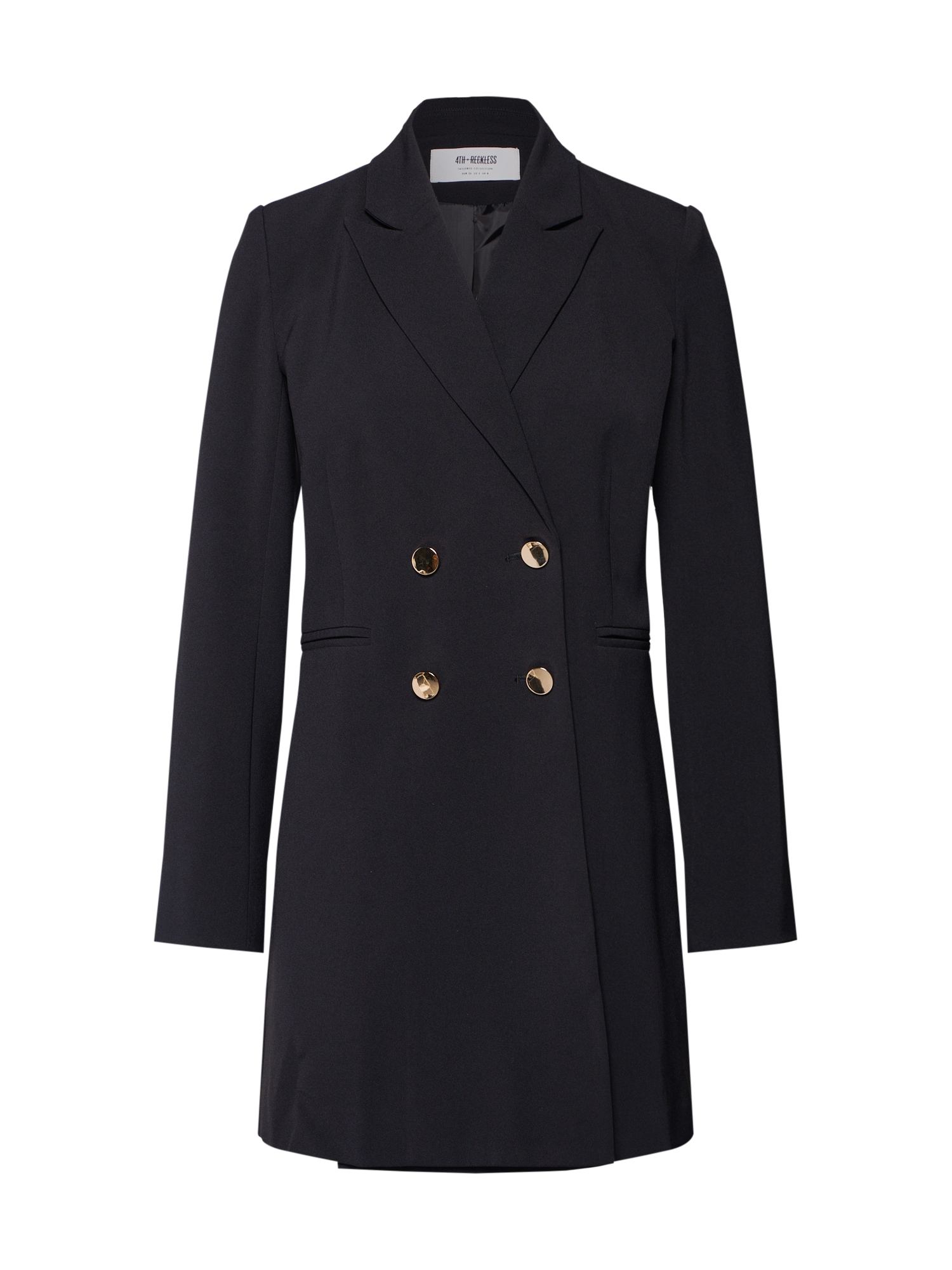 Přechodný kabát SMITH  černá 4th & Reckless
