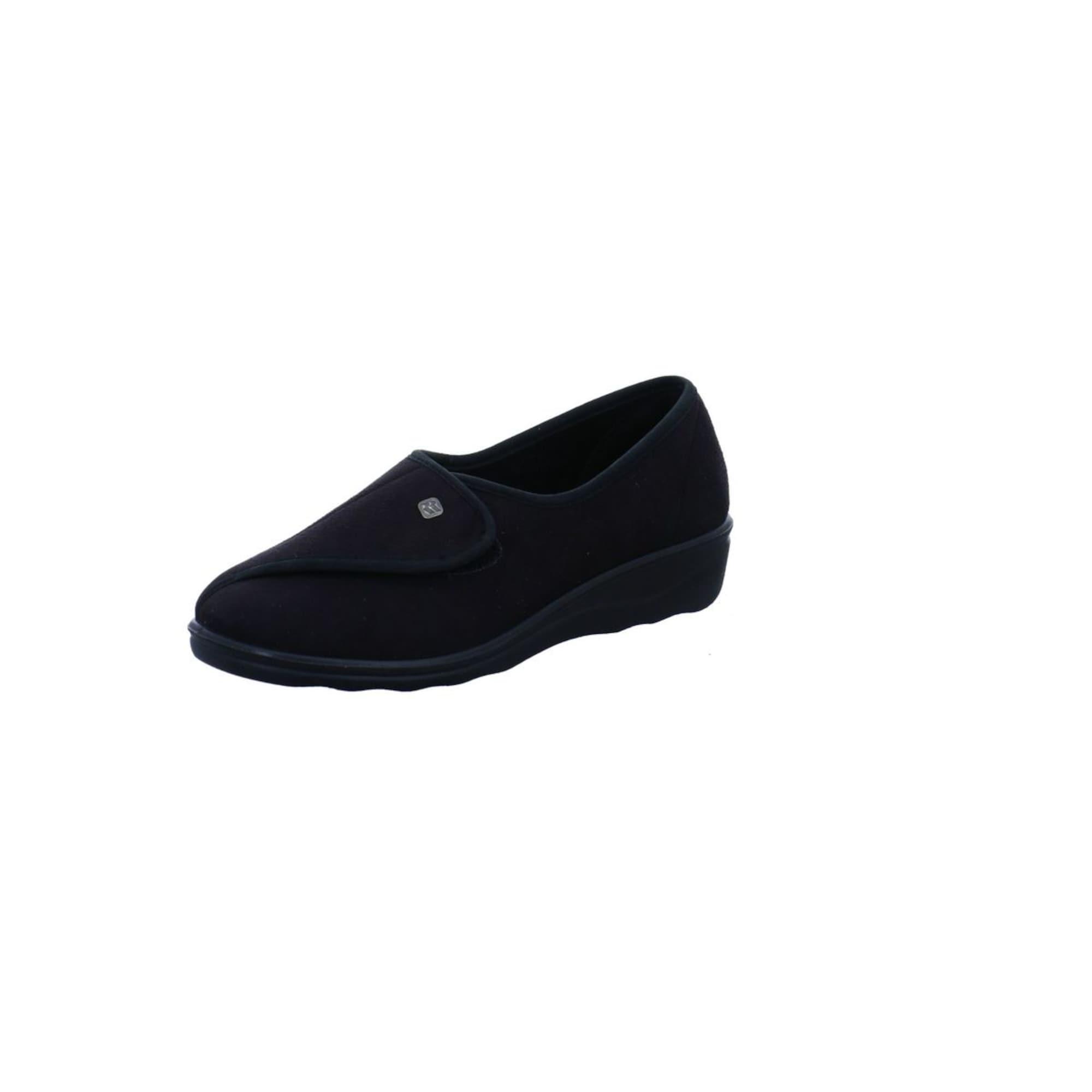 Hausschuhe   Schuhe > Hausschuhe > Klassische Hausschuhe   Schwarz   ROMIKA