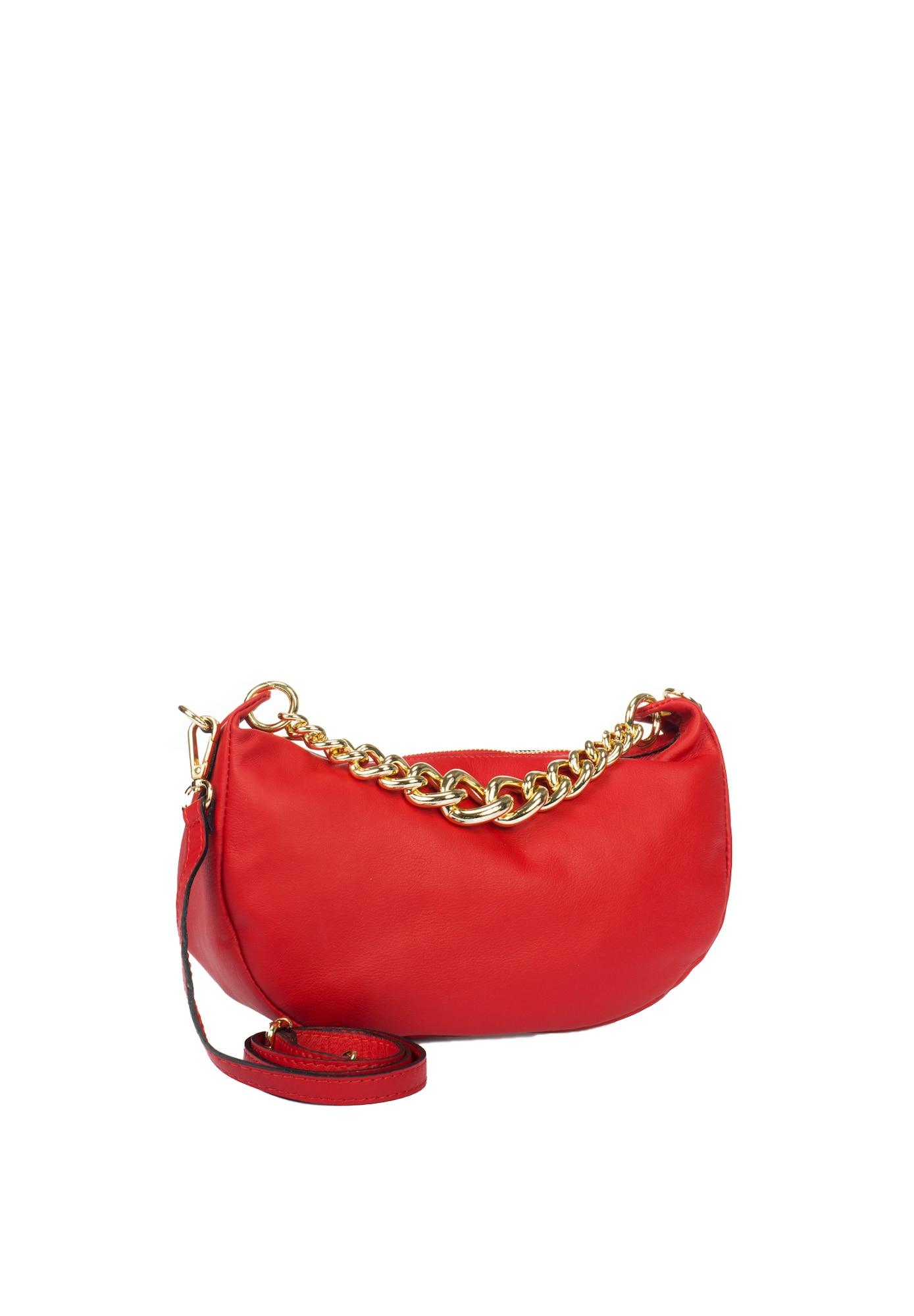 Abendtasche | Taschen > Handtaschen > Abendtaschen | Gold - Rot | Faina