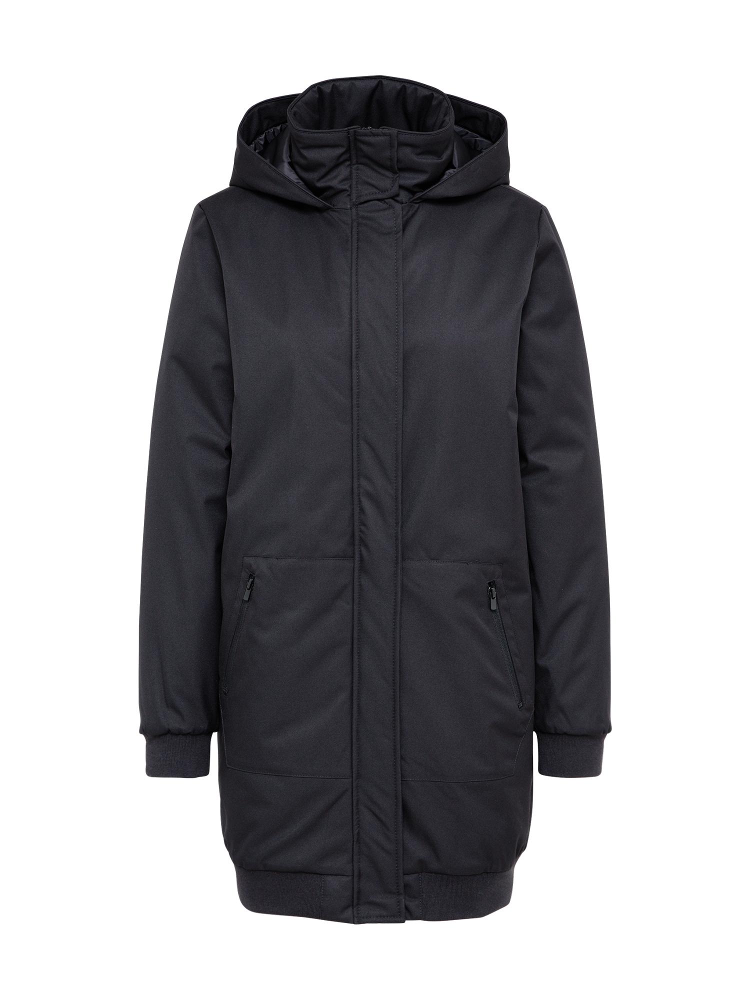 Zimní bunda Walker Way černá MOSS COPENHAGEN
