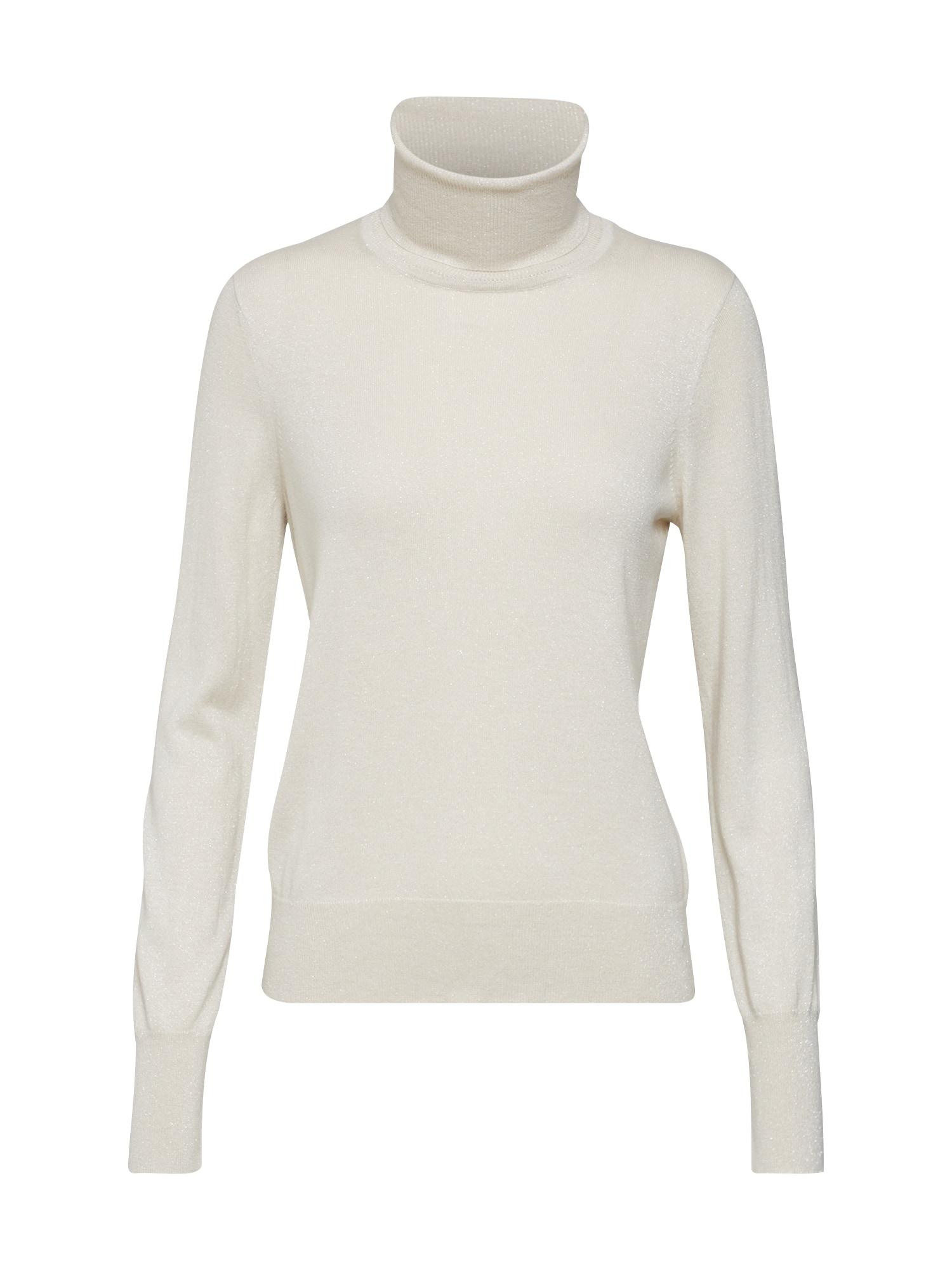 Svetr Lurex Roller Neck Sweater krémová Filippa K