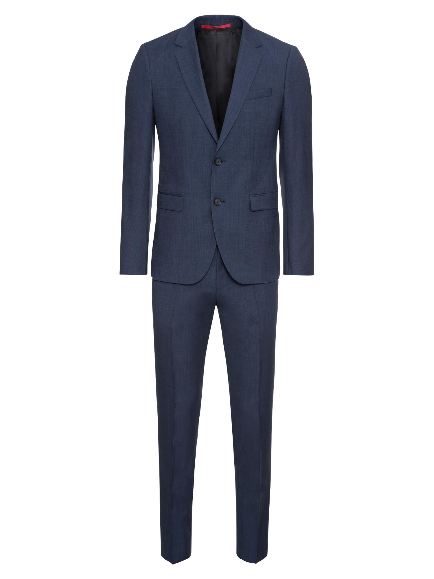 Oblek tmavě modrá HUGO