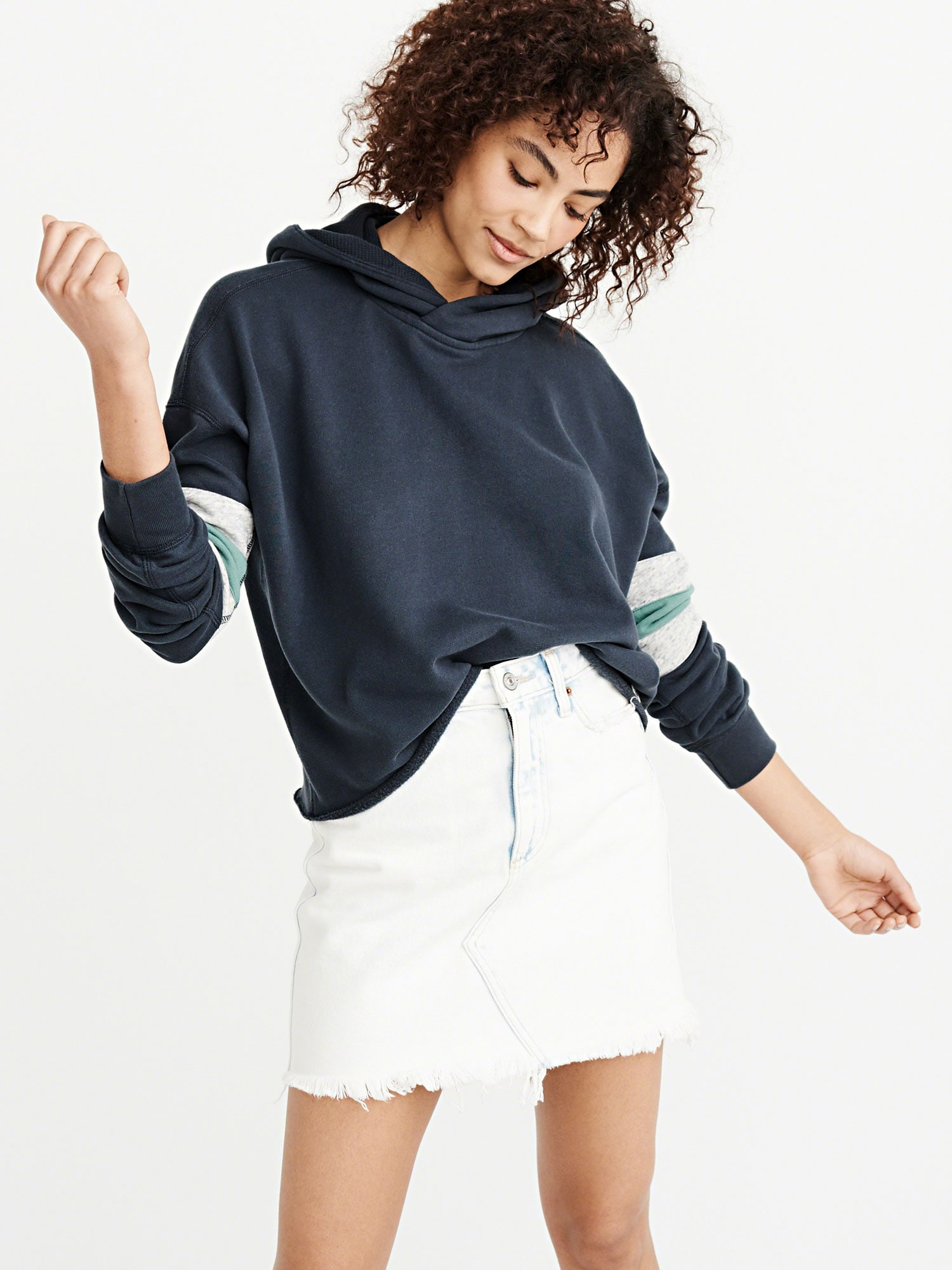 abercrombie & fitch - Pullover 'ARM BAR P/O'
