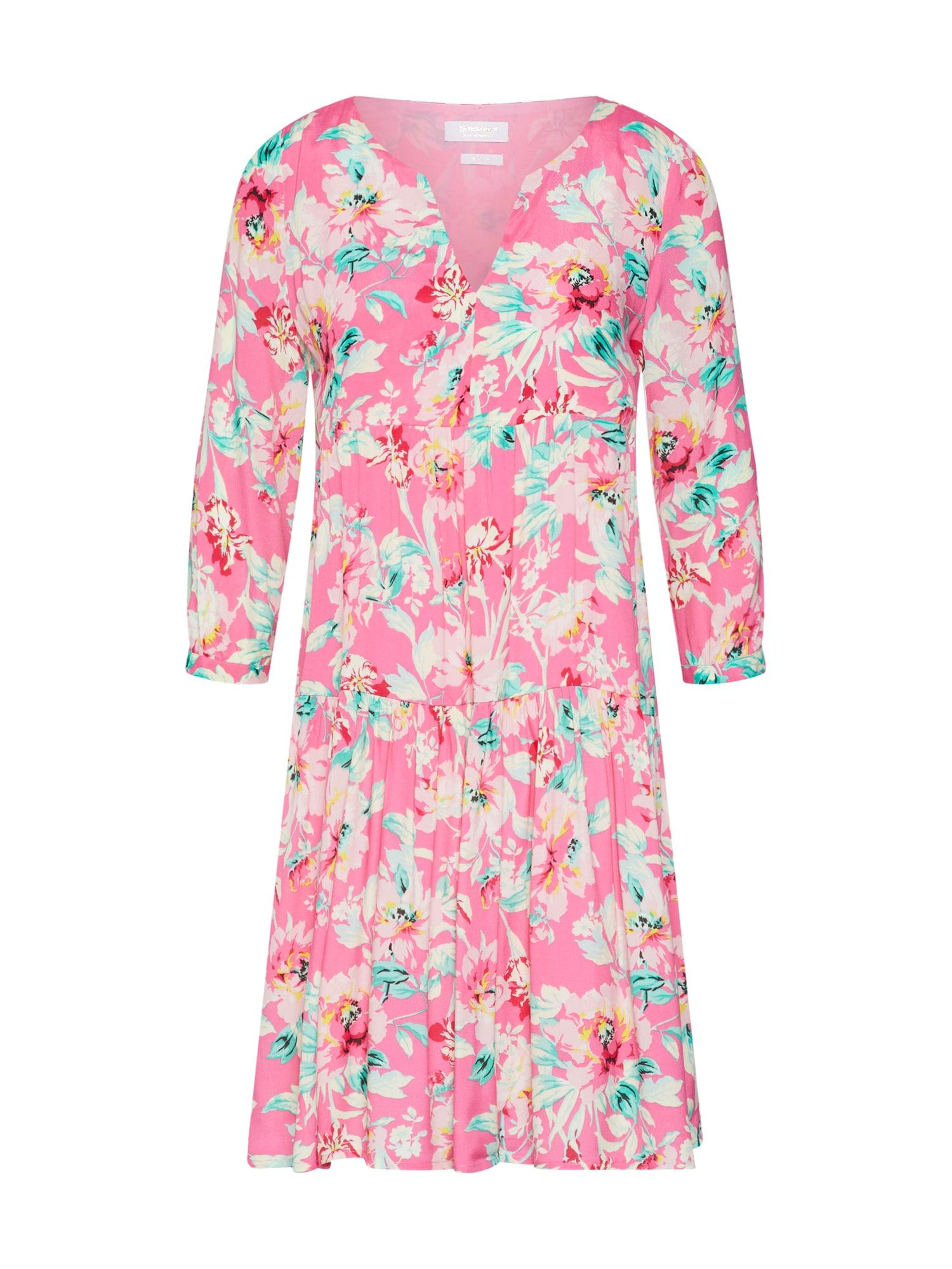 Letní šaty mix barev pink Rich & Royal