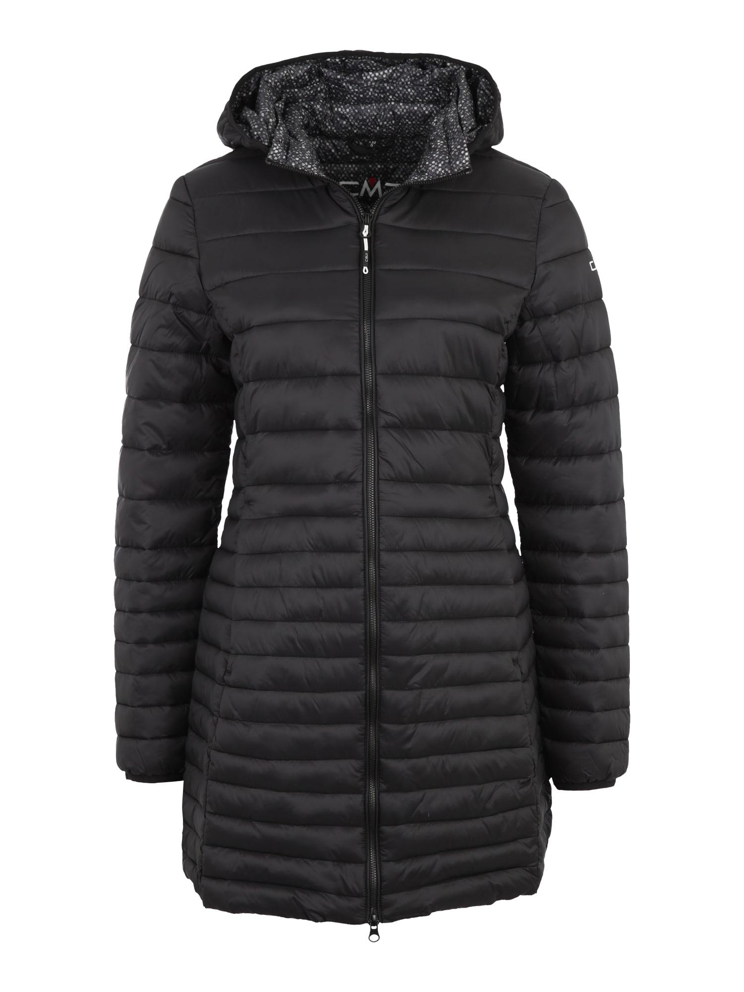 Outdoorový kabát FIX HOOD černá CMP