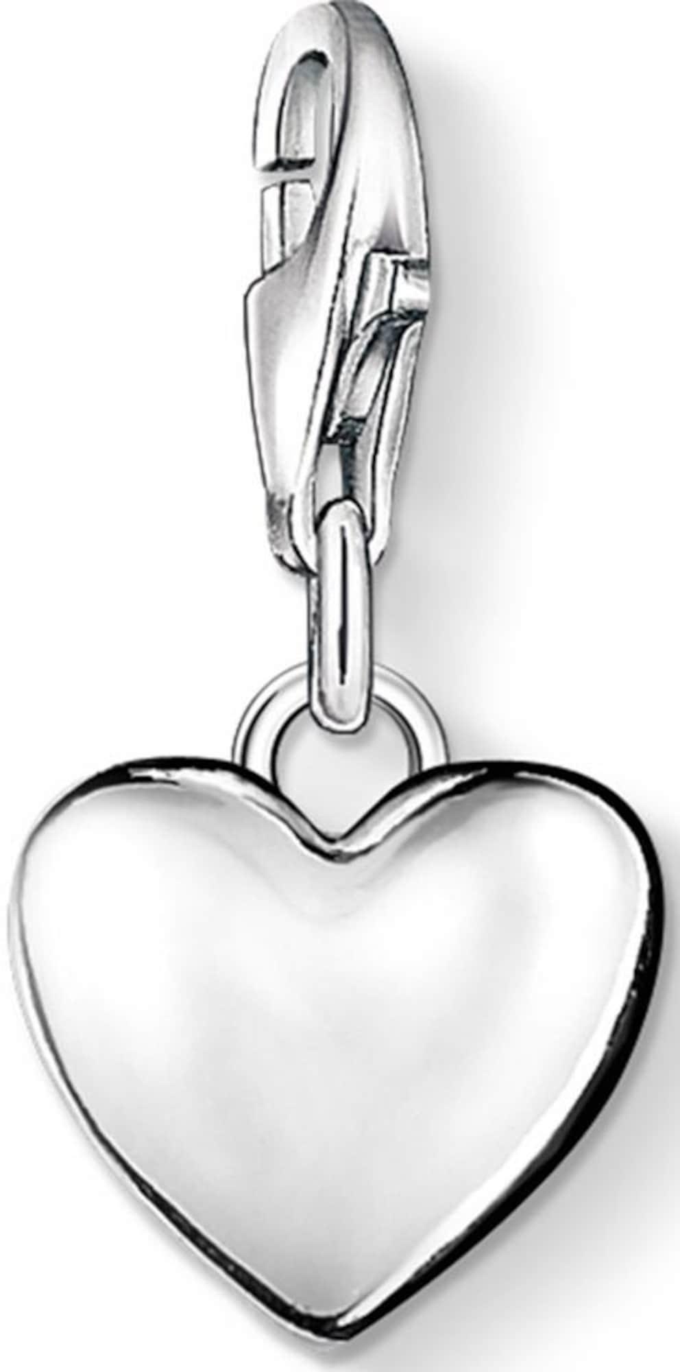 Charm-Einhänger 'Herz, 0913-001-12' | Schmuck > Charms > Charms Anhänger | Silber | Thomas Sabo