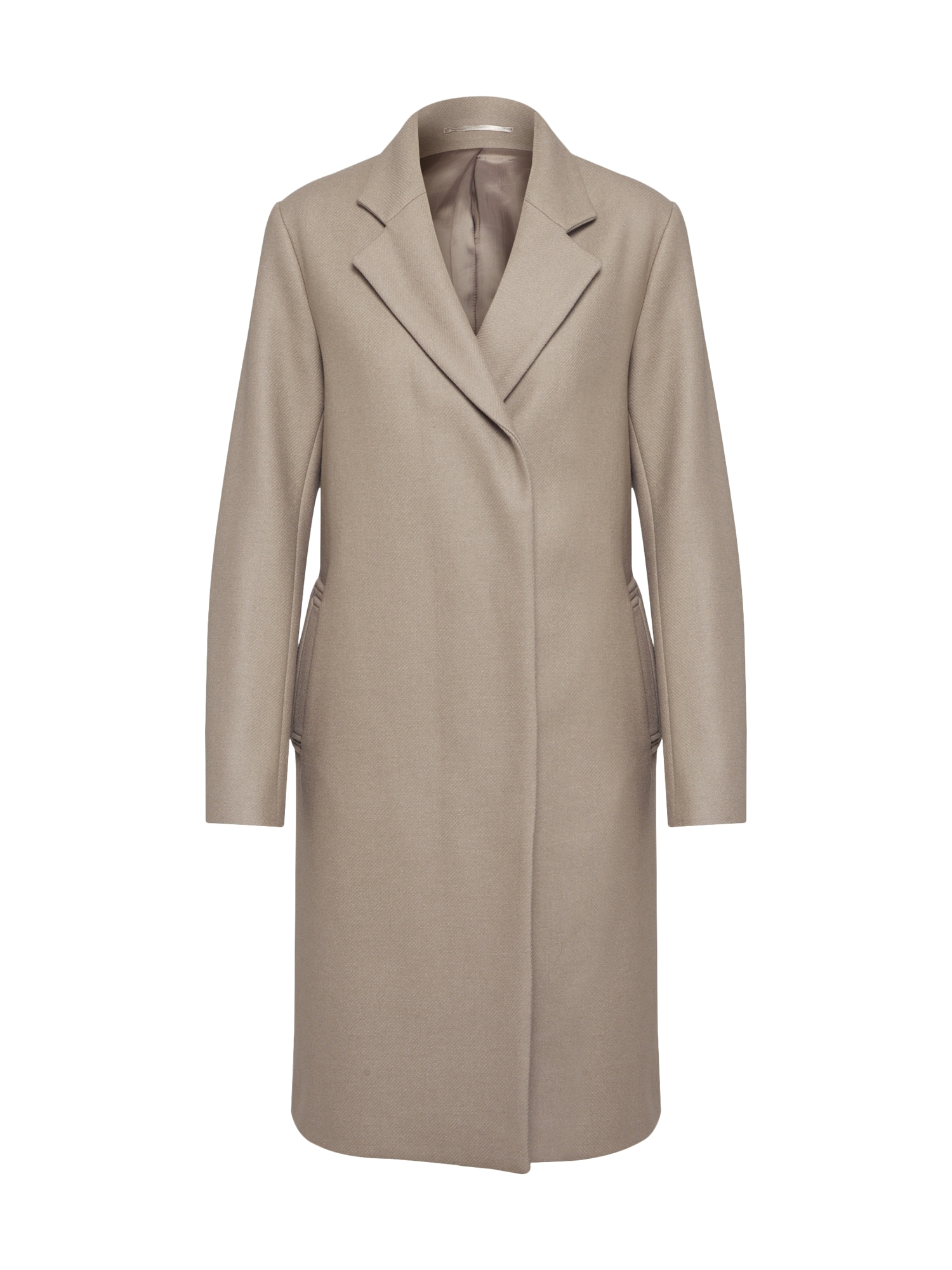 Zimní kabát Eden tmavě béžová Filippa K