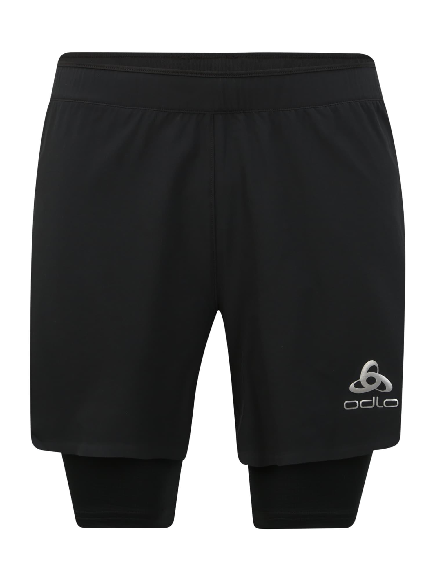 ODLO Sportovní kalhoty 'ZEROWEIGHT CERAMICOOL PRO'  černá