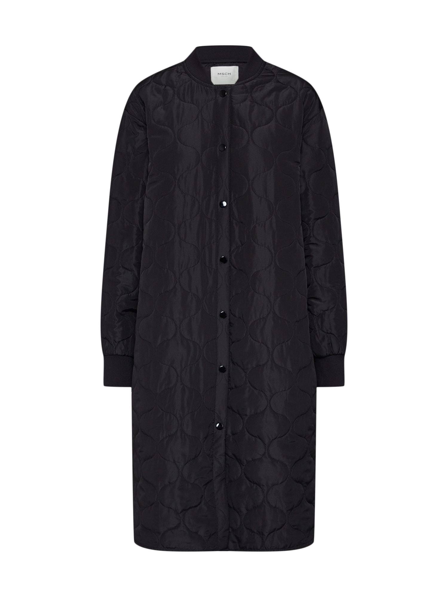 MOSS COPENHAGEN Prechodný kabát 'Moriza Deya'  čierna