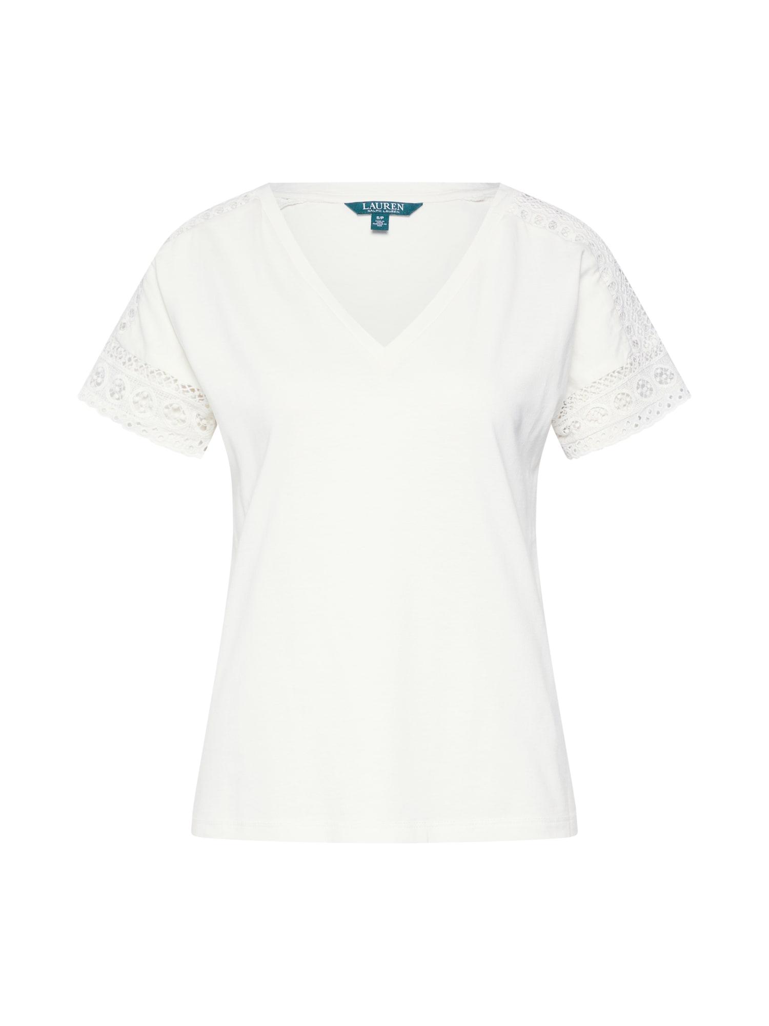 Tričko krémová Lauren Ralph Lauren