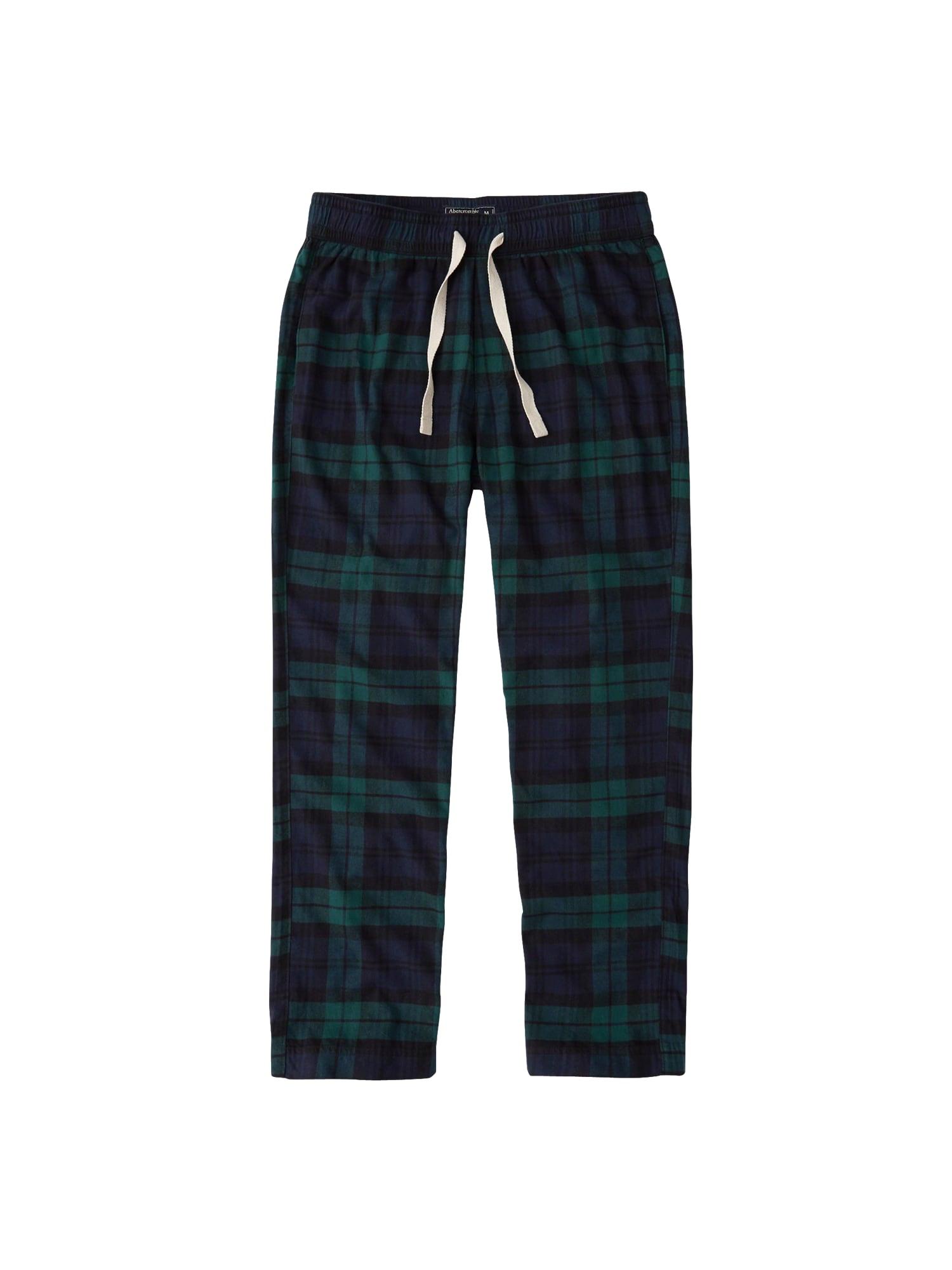 Pyžamové kalhoty námořnická modř zelená Abercrombie & Fitch