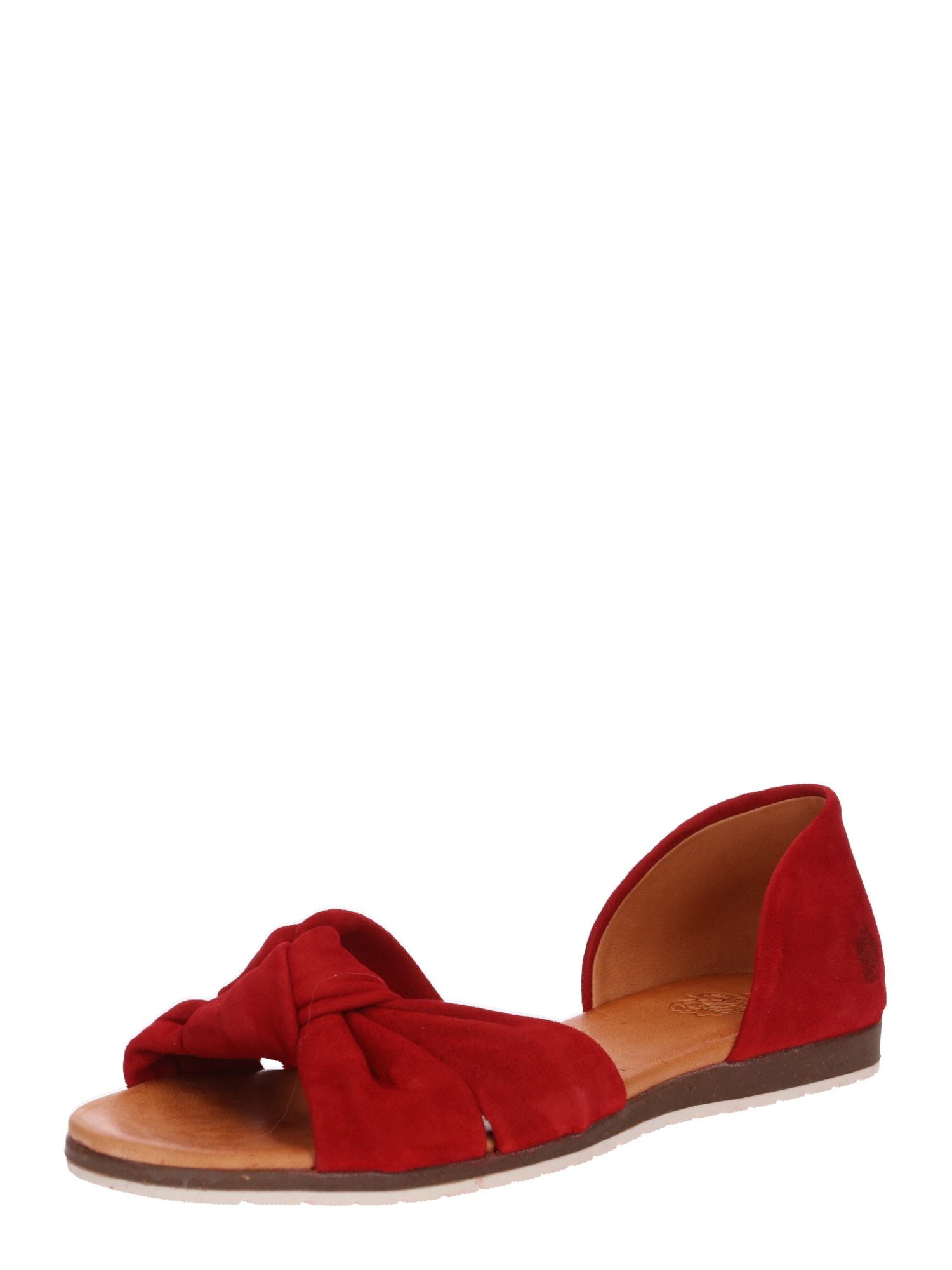 Sandály Chelsea béžová červená Apple Of Eden