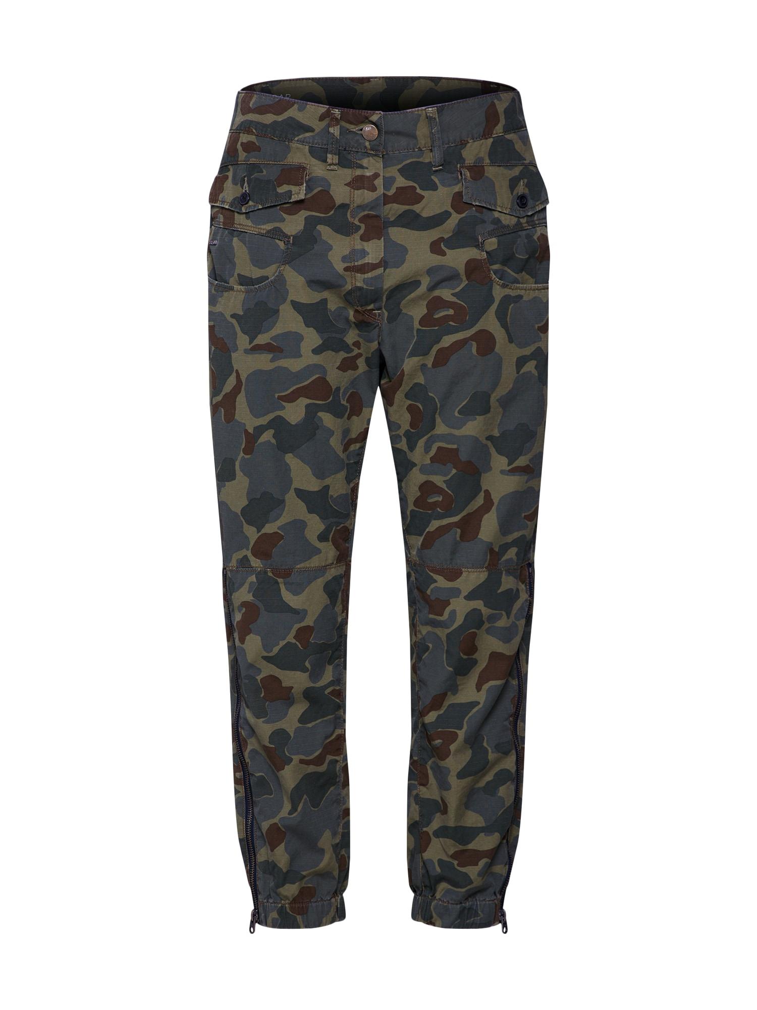 Kalhoty Army radar khaki mix barev G-STAR RAW