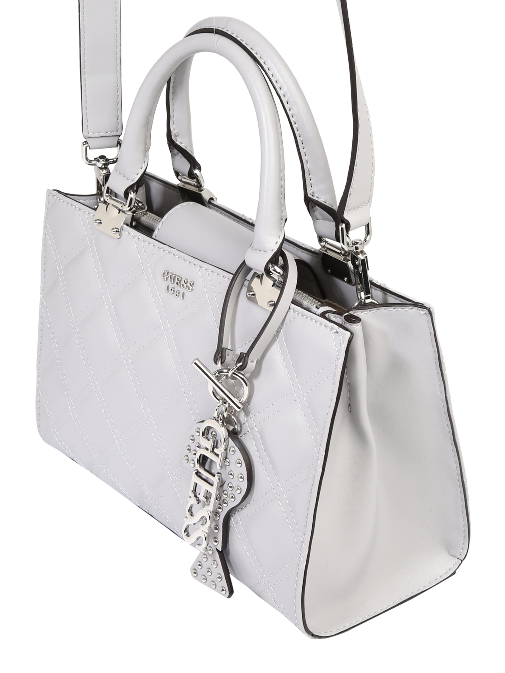 GUESS Torebka 'GUESS STATUS GIRLFRIEND'  offwhite