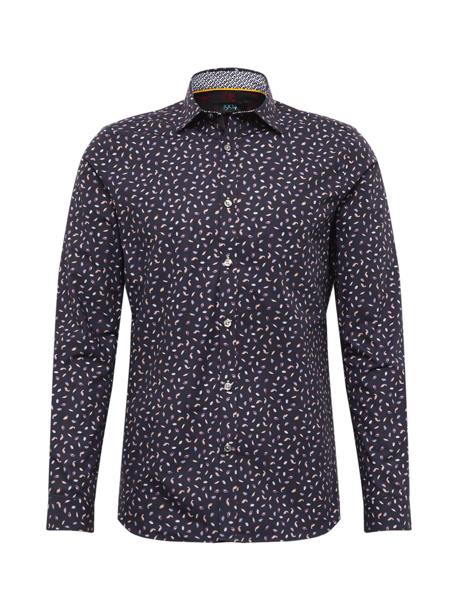 BURTON MENSWEAR LONDON Košile 'edtsy feather'  námořnická modř