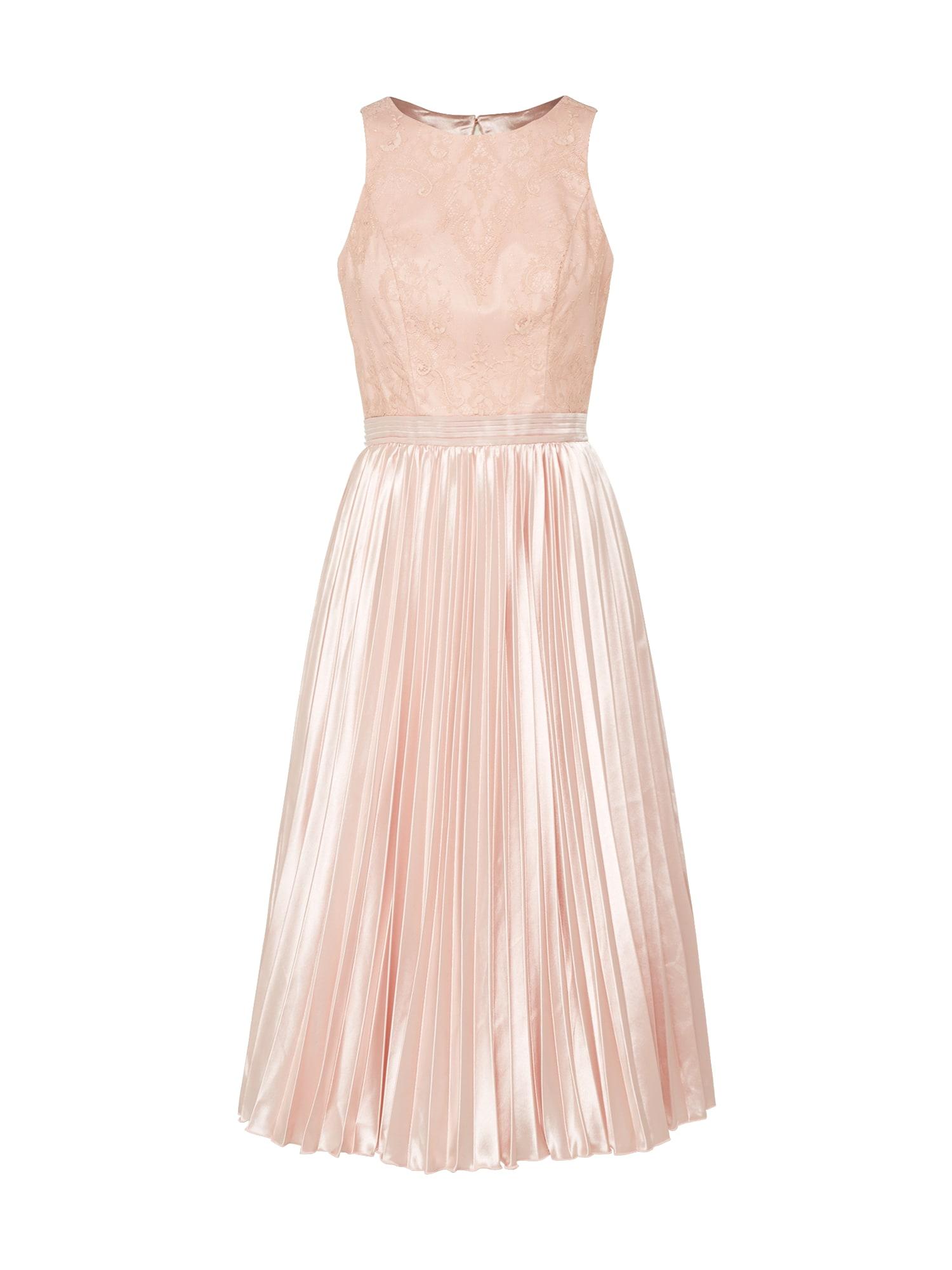 Koktejlové šaty CHI CHI KARLEIGH růžová Chi Chi London