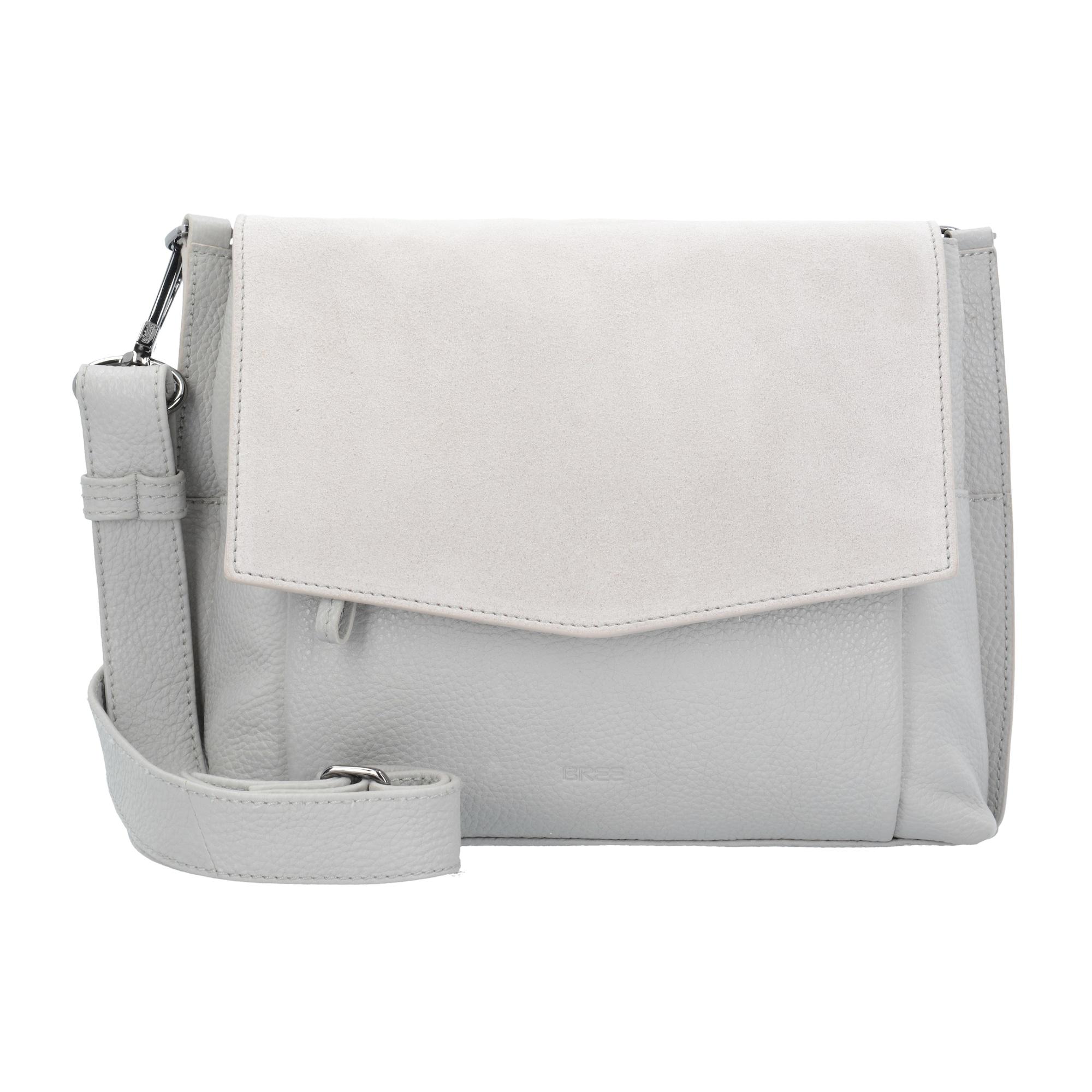 Schultertasche  'Brigitte' 26 cm | Taschen > Handtaschen | Grau | Bree