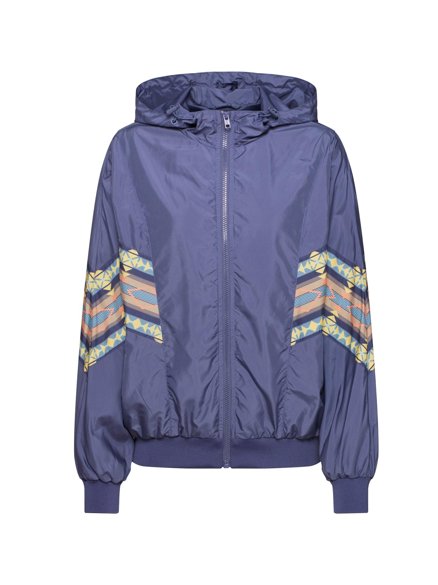 Urban Classics Prechodná bunda 'Inka Batwing '  modré