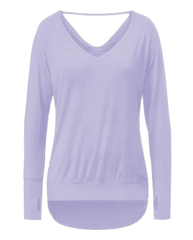 YOGISTAR.COM Yogi-shirt Langarm - Pearl