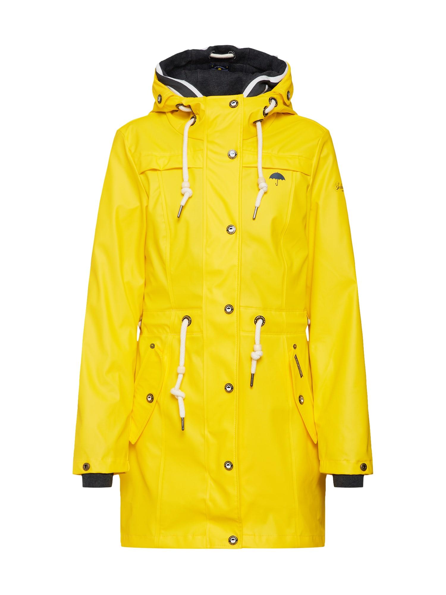 Přechodná bunda žlutá Schmuddelwedda