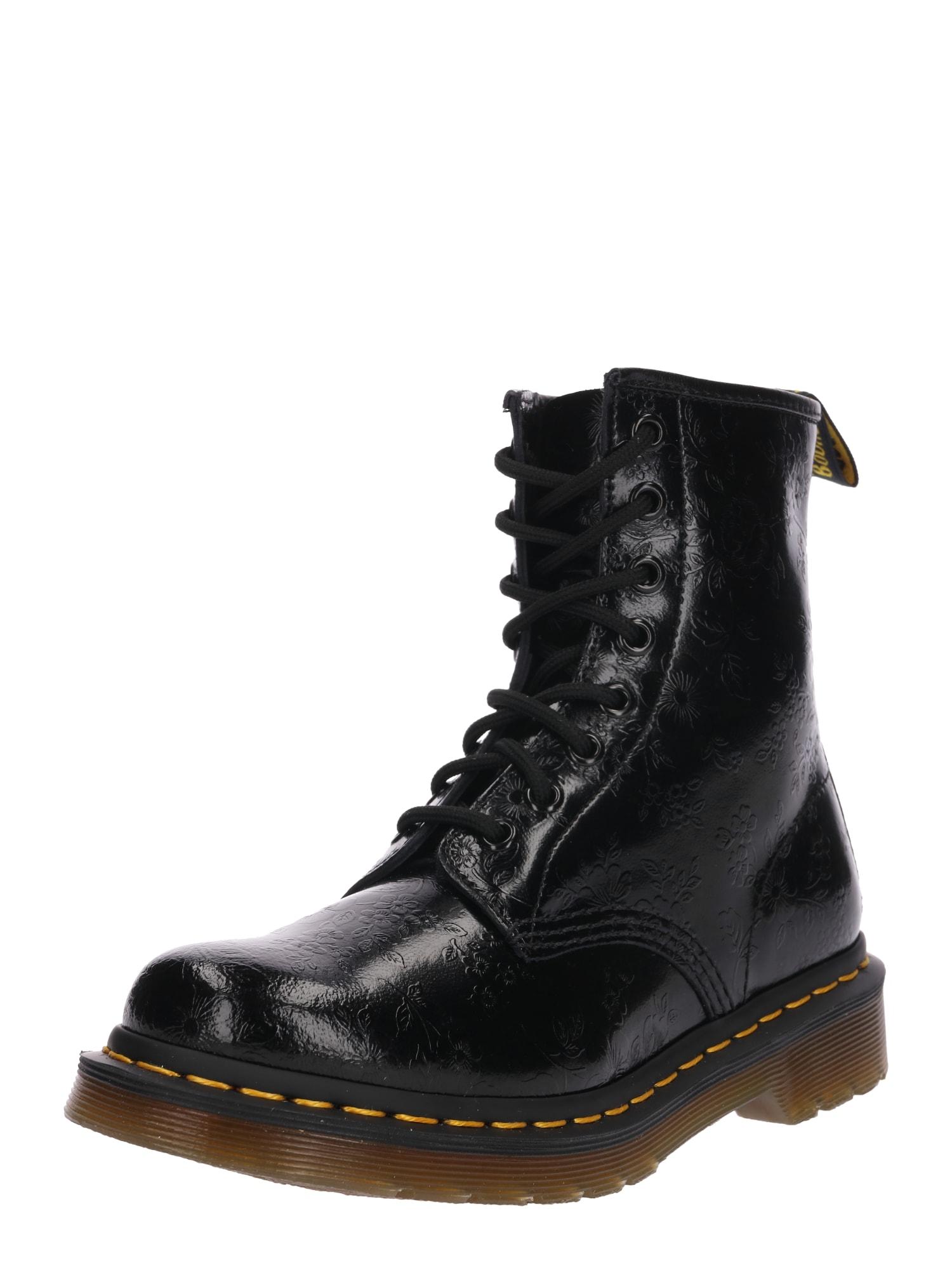 Šněrovací boty černá Dr. Martens