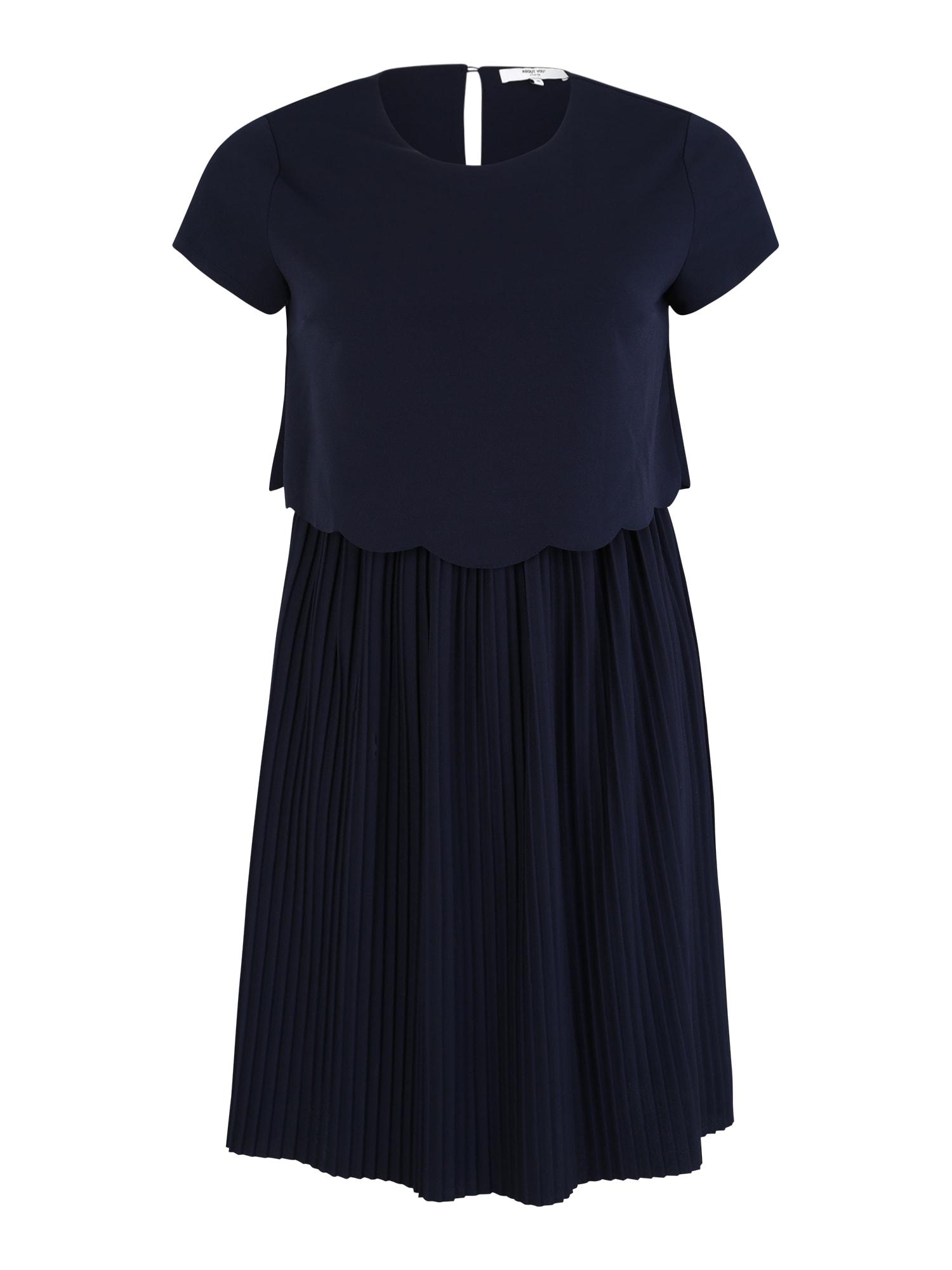Koktejlové šaty Dinah námořnická modř ABOUT YOU Curvy