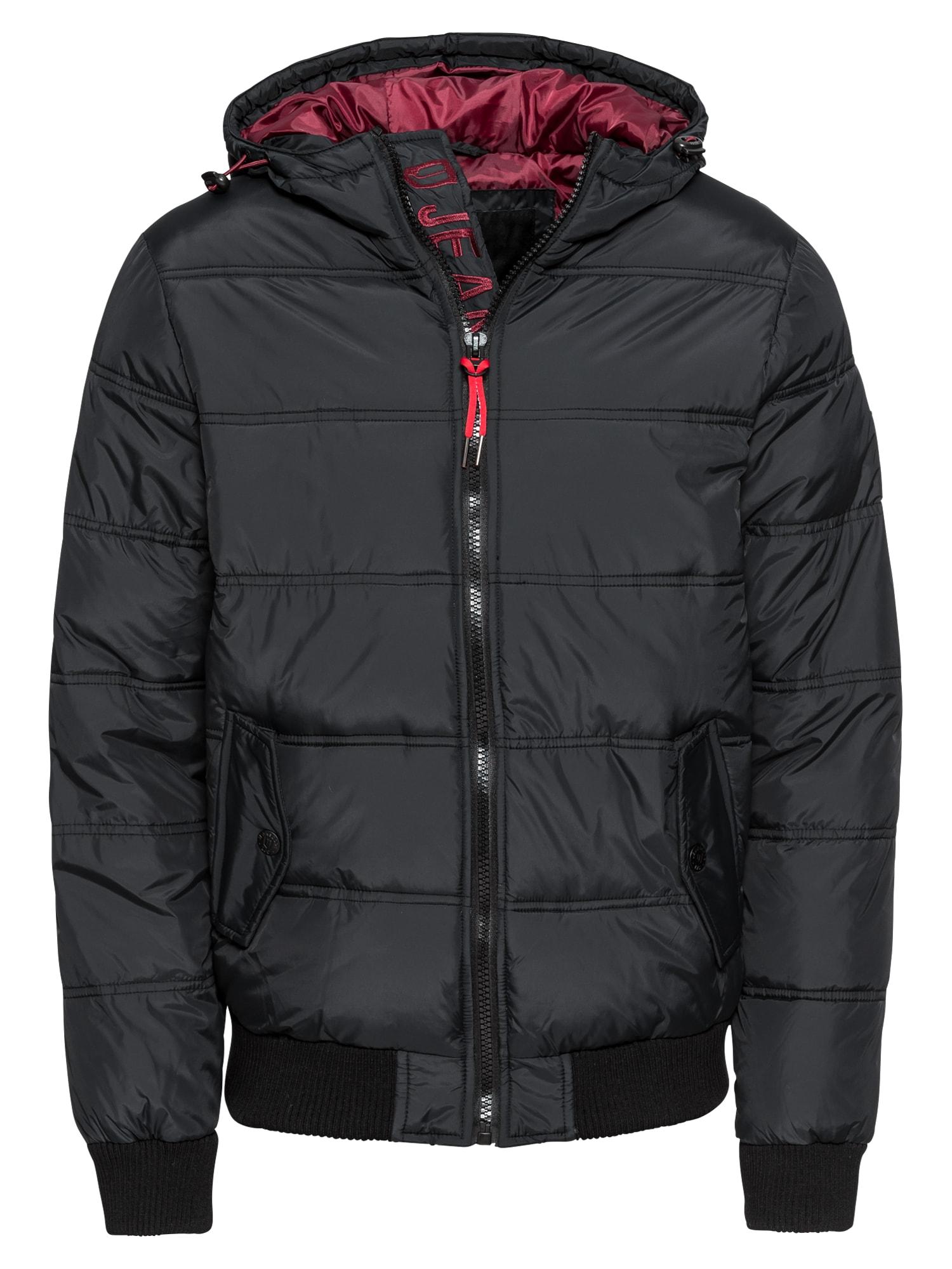 INDICODE JEANS Zimní bunda 'Eton'  černá