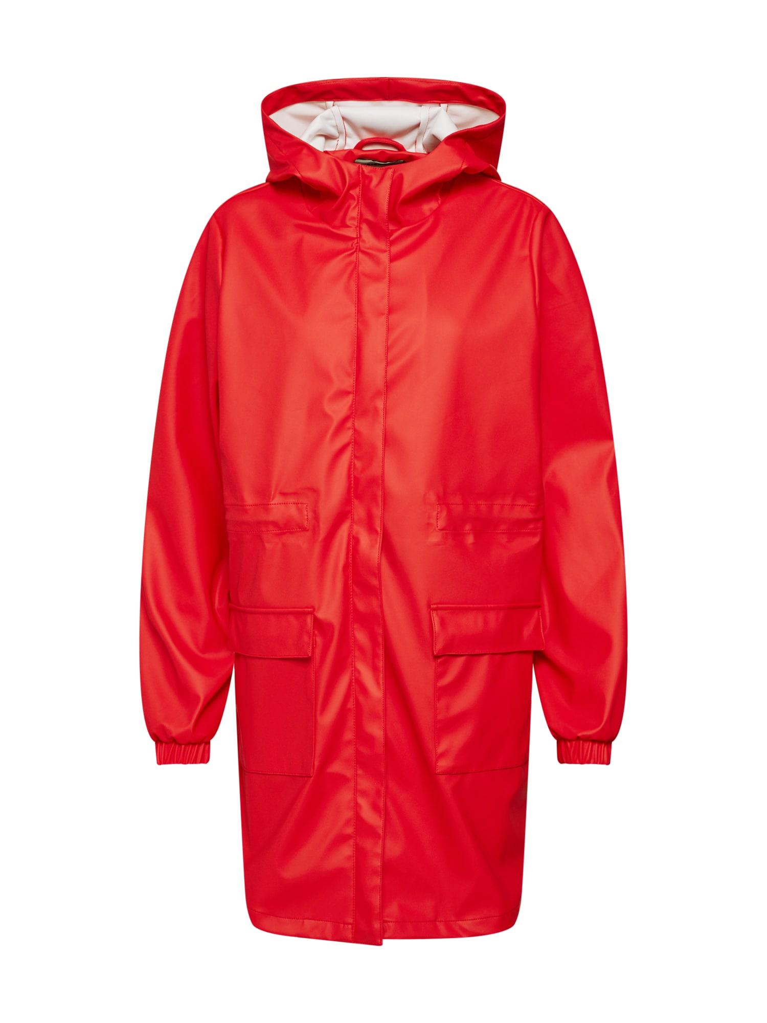 PIECES Přechodná bunda 'Pcbobbi'  oranžově červená