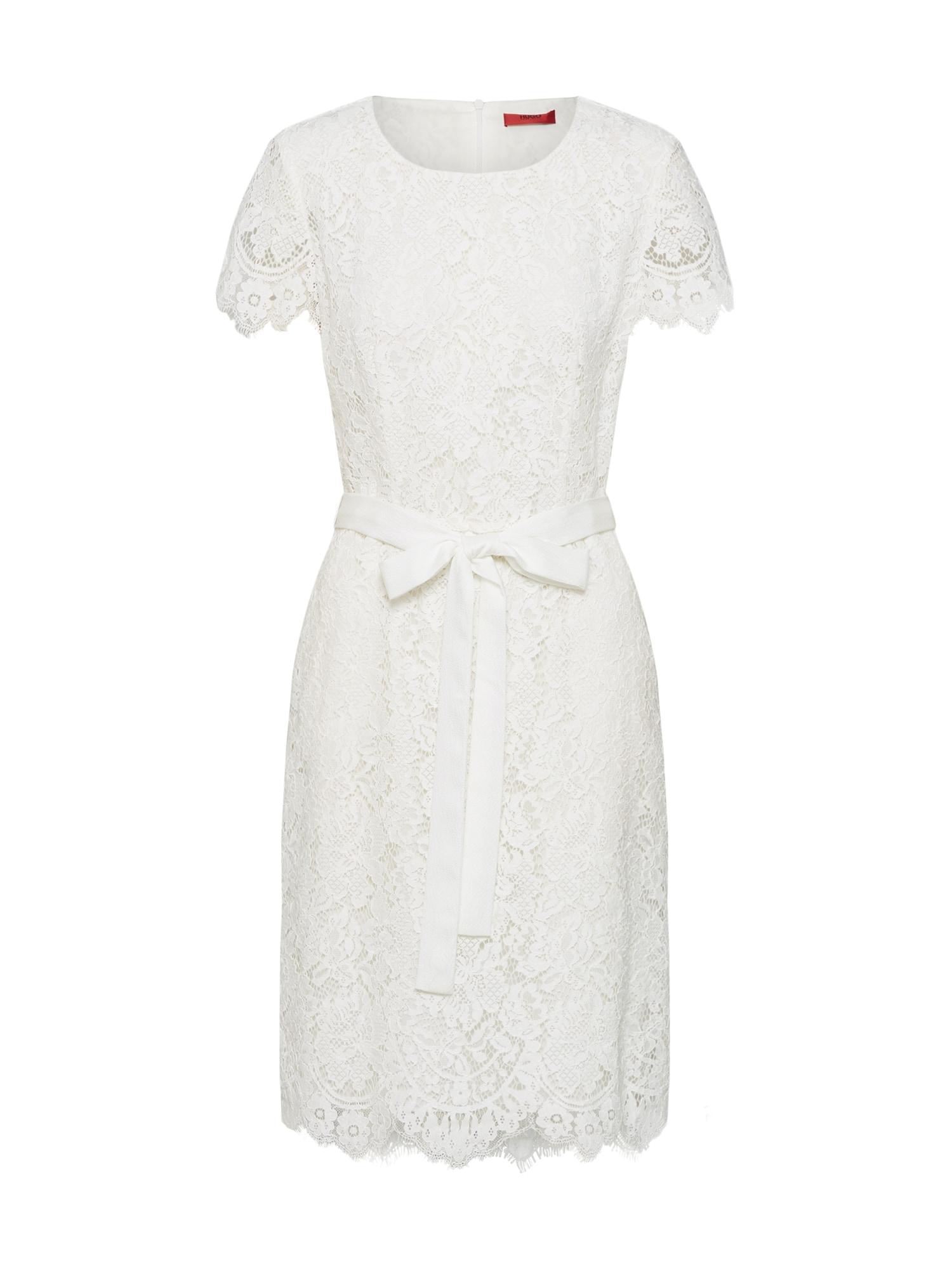 HUGO Sukienka koktajlowa 'Kilela-1'  biały
