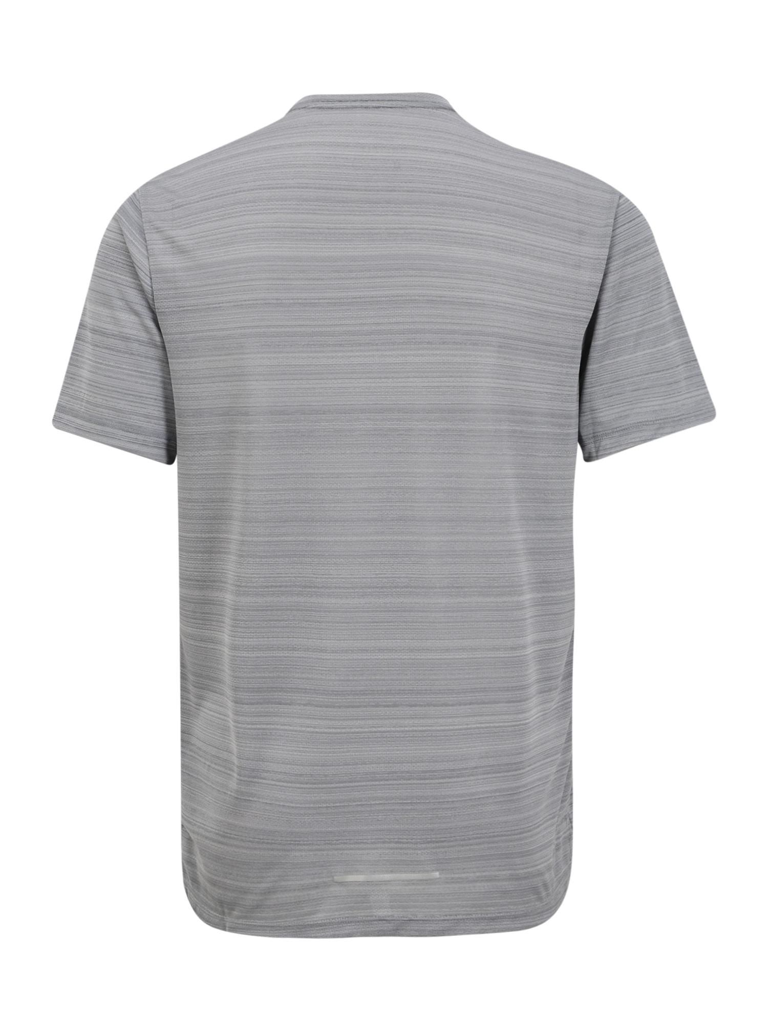 NIKE Funkčné tričko 'Dry Miler'  tmavosivá