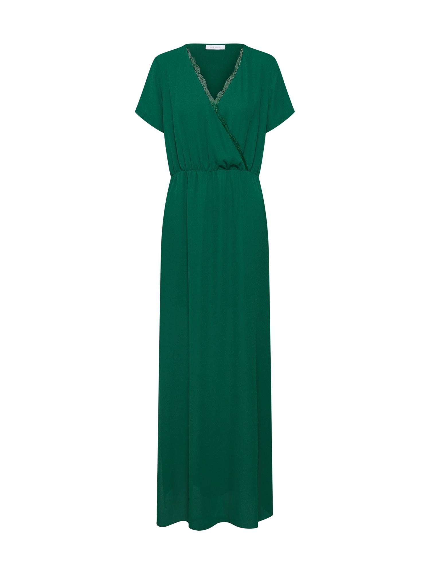 Společenské šaty zelená Samsoe & Samsoe