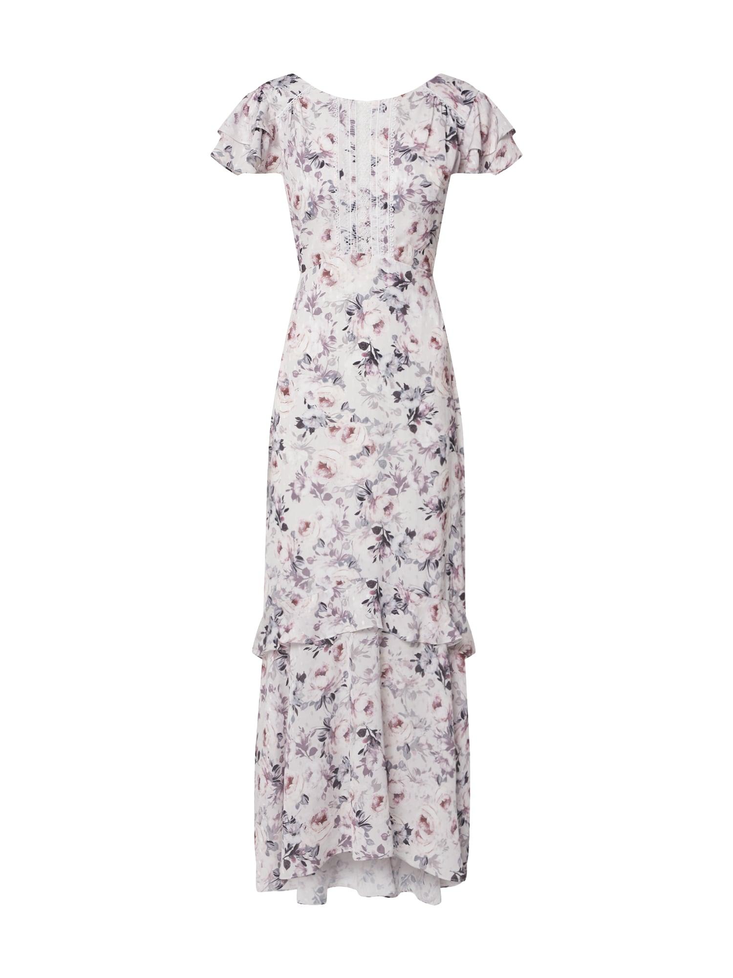Forever New Večerné šaty 'AMIE'  ružová / biela