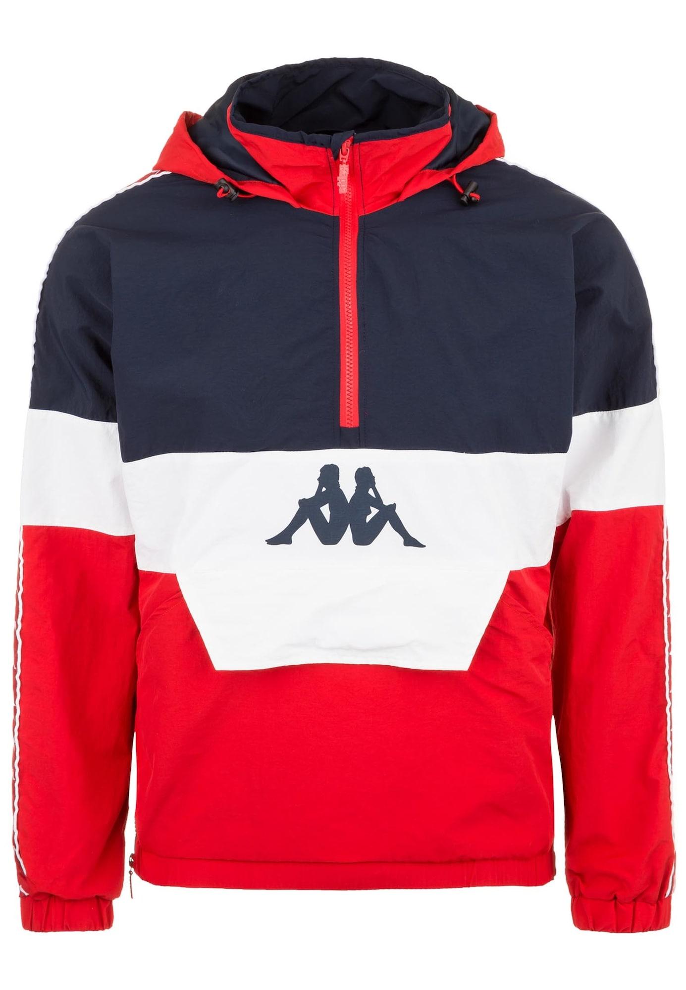 Funkční bunda Emilie  ultramarínová modř  červená KAPPA