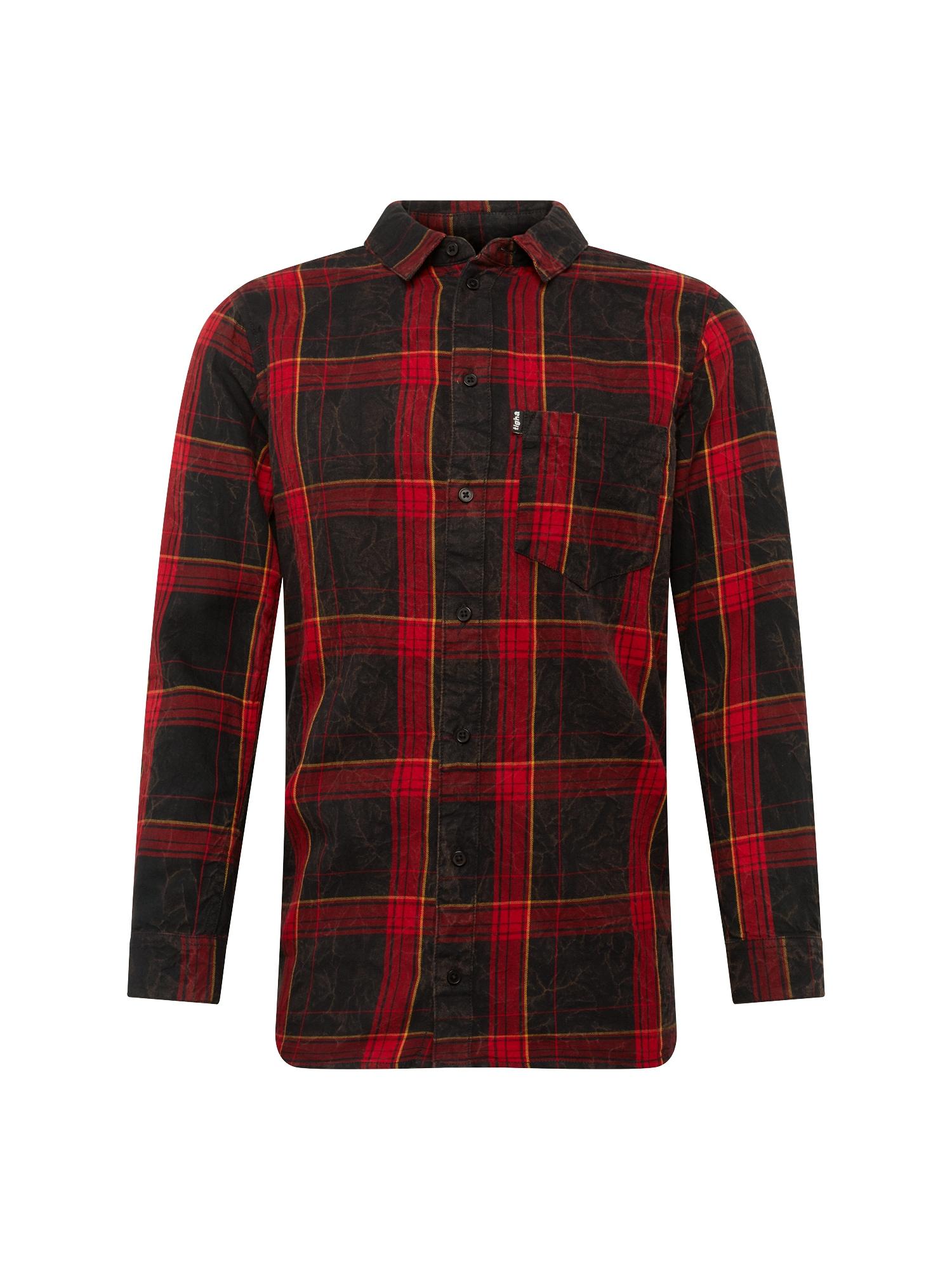 Košile Laurent červená černá Tigha