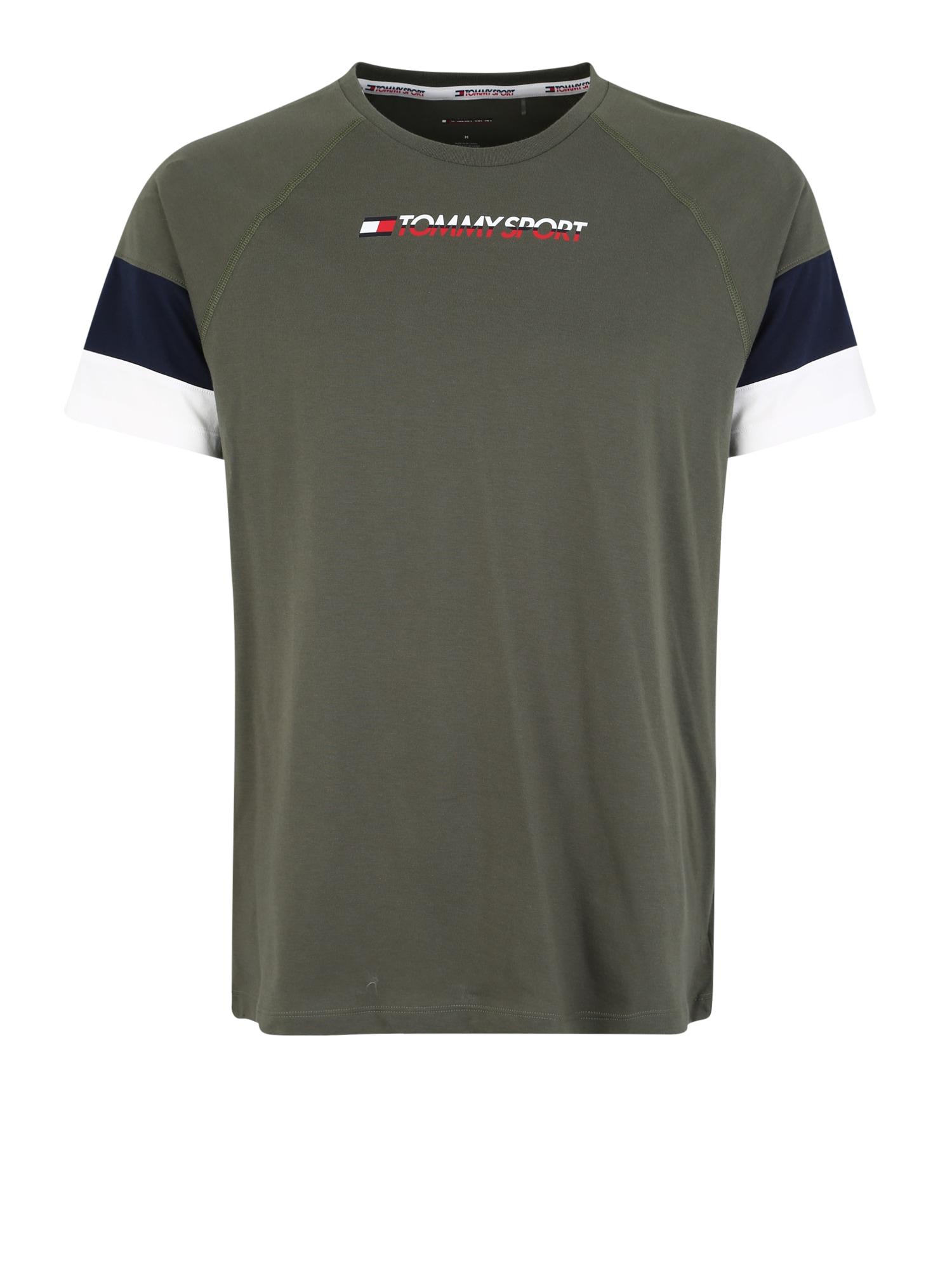 Funkční tričko tmavě zelená Tommy Sport