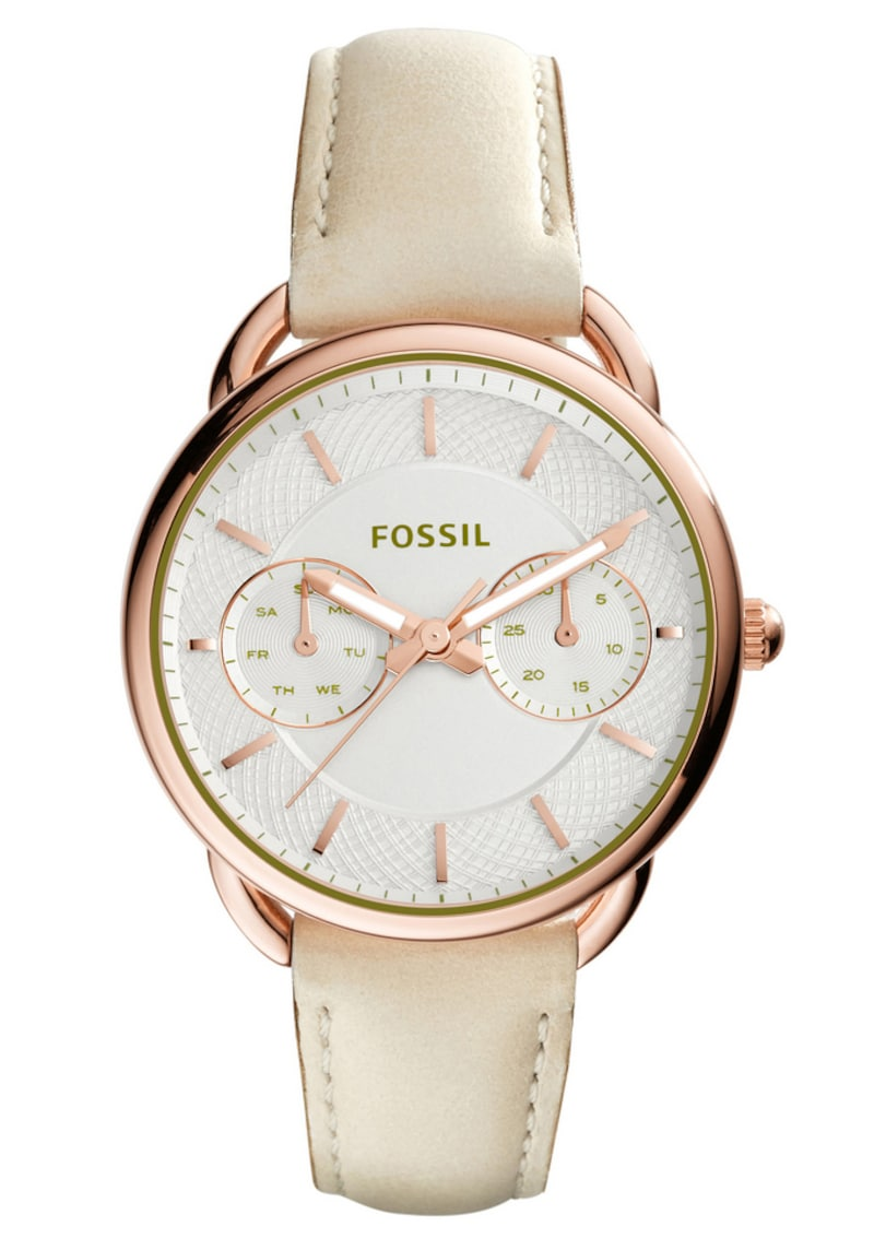 FOSSIL Fossil Multifunktionsuhr, »TAILOR, ES3954« beige