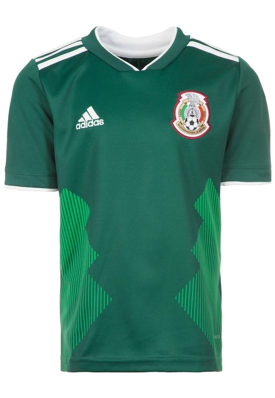 ADIDAS PERFORMANCE ´FMF Mexico Home WM 2018´ Trikot Kinder jetztbilligerkaufen