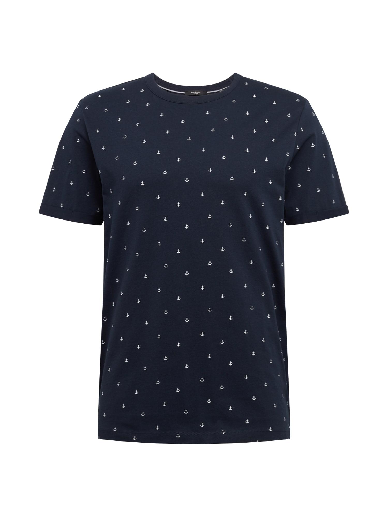 JACK & JONES Tričko 'TRISTAN'  námořnická modř