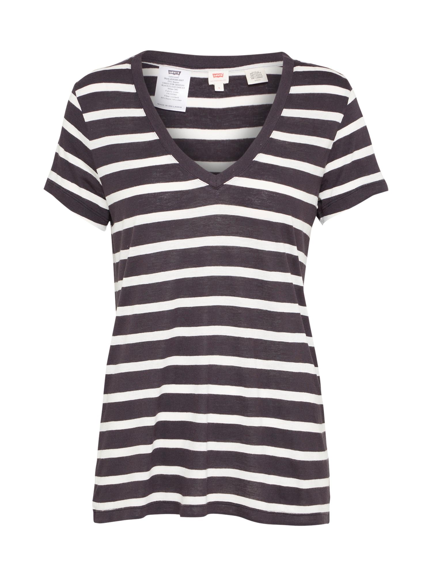 LEVI'S Dames Shirt ESSENTIAL grijs zwart