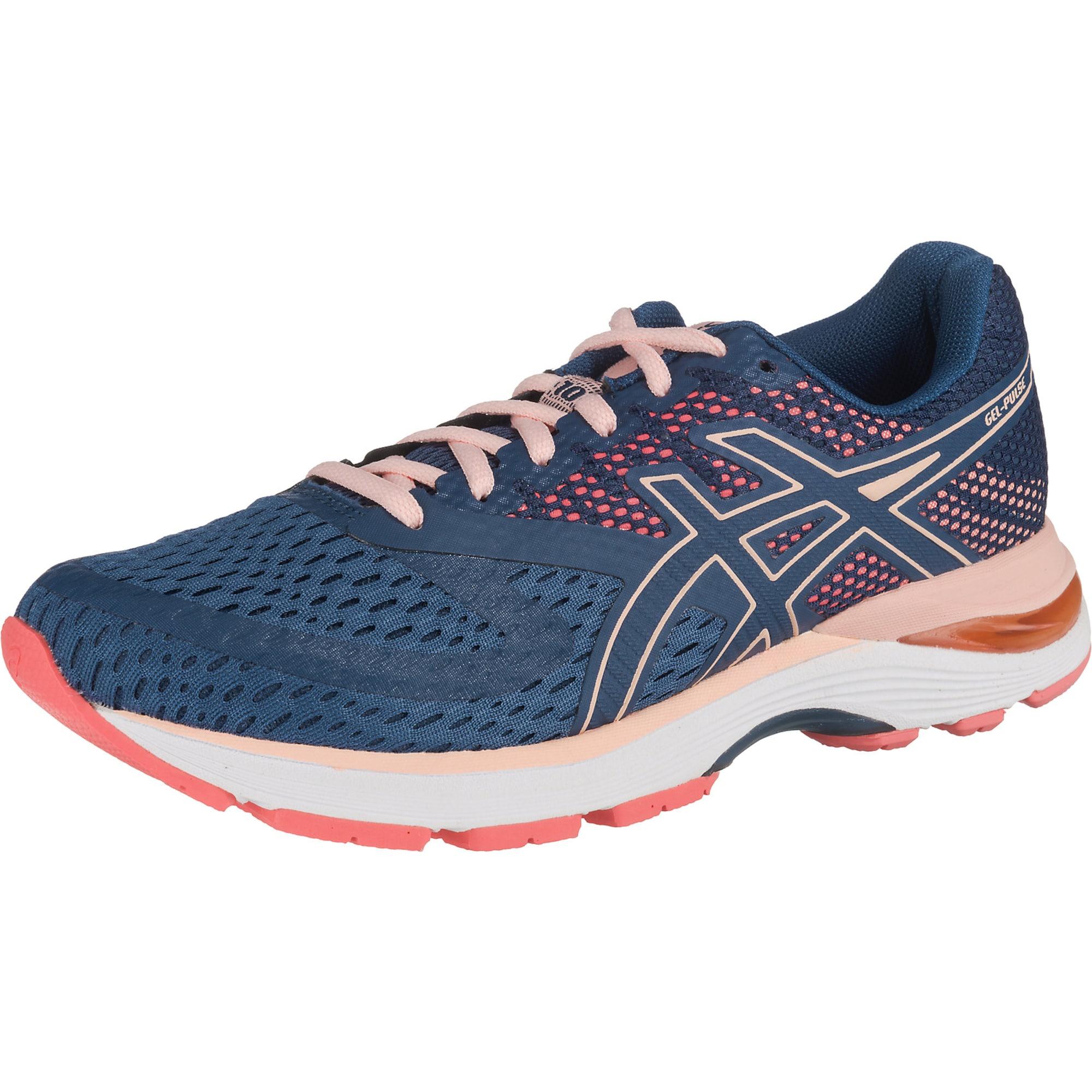 Laufschuh 'Gel-Pulse 10' | Schuhe > Sportschuhe > Laufschuhe | Dunkelblau - Rosa - Weiß | ASICS
