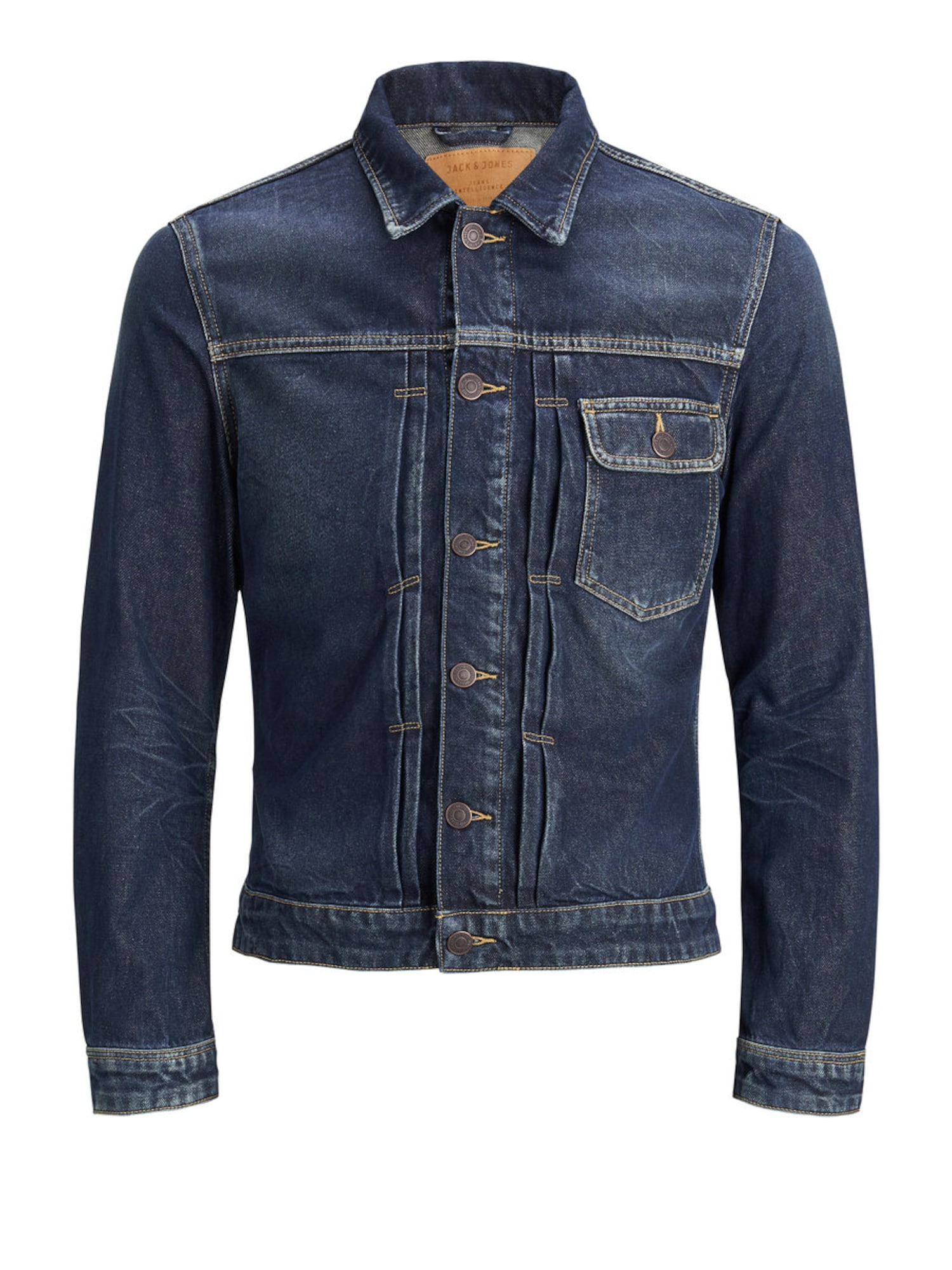 JACK & JONES, Heren Tussenjas 'JACK JOS 540', blauw denim